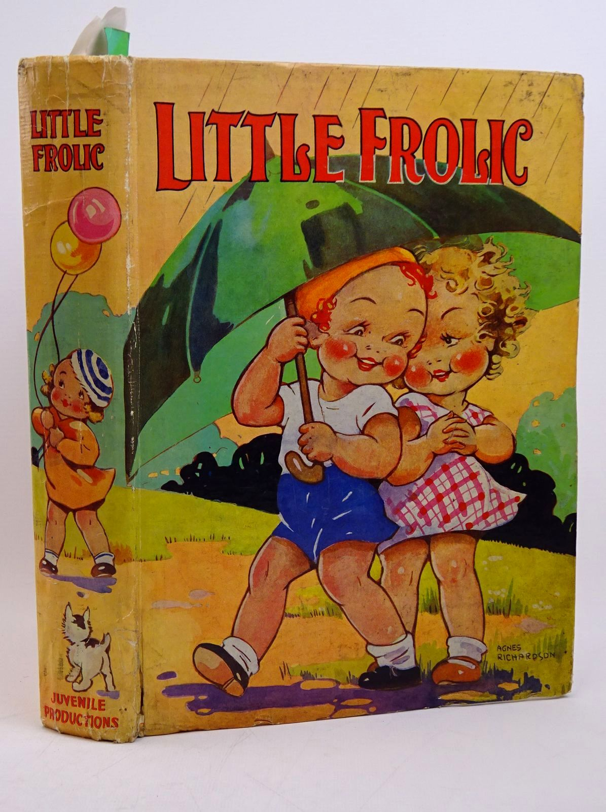Photo of LITTLE FROLIC illustrated by Wain, Louis Aris, Ernest A. Richardson, Agnes Cowham, Hilda et al.,  published by Juvenile Productions Ltd. (STOCK CODE: 1317799)  for sale by Stella & Rose's Books