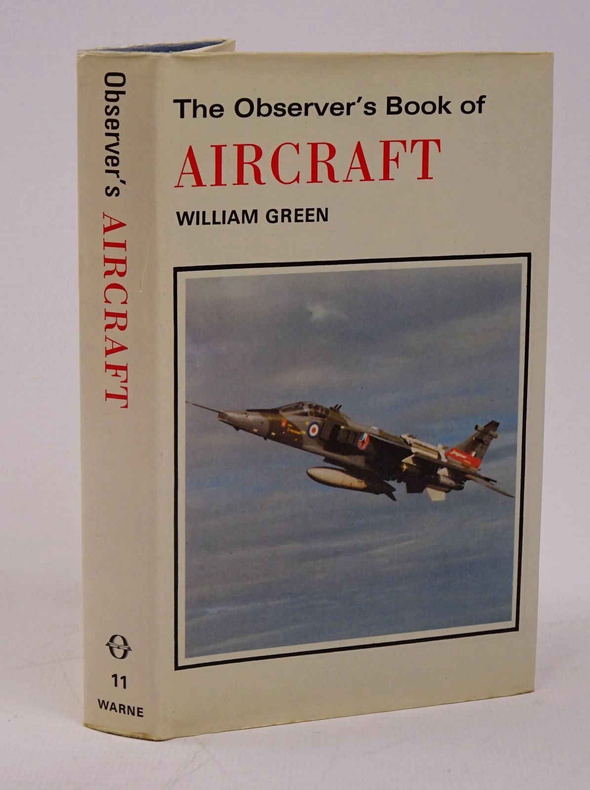 Photo of THE OBSERVER'S BOOK OF AIRCRAFT written by Green, William illustrated by Punnett, Dennis published by Frederick Warne (STOCK CODE: 1317806)  for sale by Stella & Rose's Books