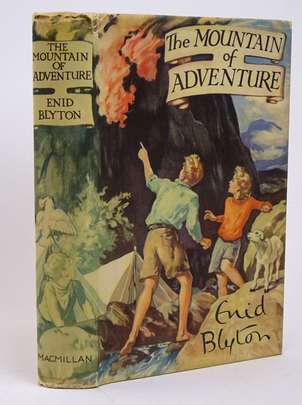 Photo of THE MOUNTAIN OF ADVENTURE written by Blyton, Enid illustrated by Tresilian, Stuart published by Macmillan & Co. Ltd. (STOCK CODE: 1317808)  for sale by Stella & Rose's Books