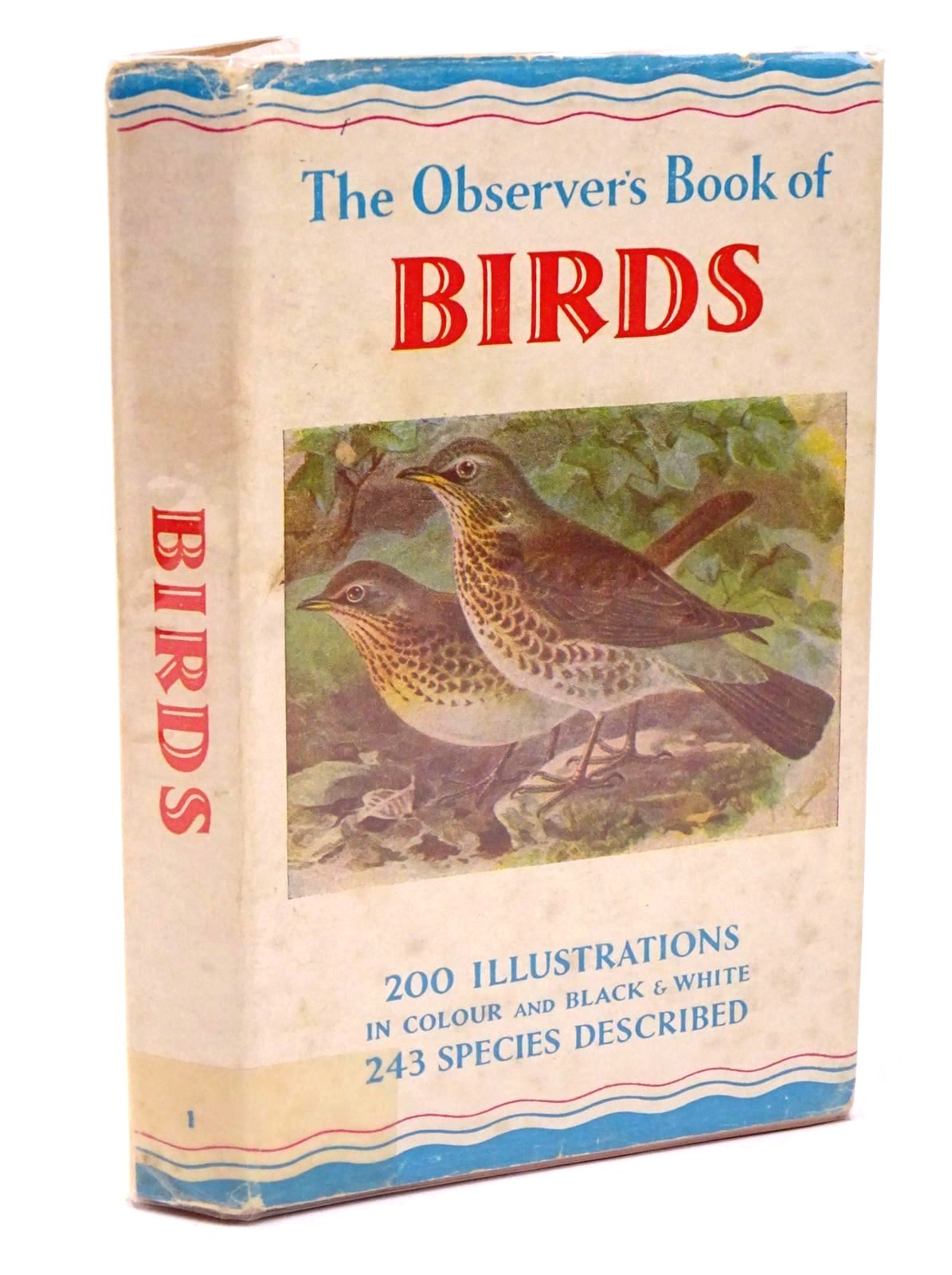 Photo of THE OBSERVER'S BOOK OF BIRDS written by Benson, S. Vere published by Frederick Warne & Co Ltd. (STOCK CODE: 1317814)  for sale by Stella & Rose's Books