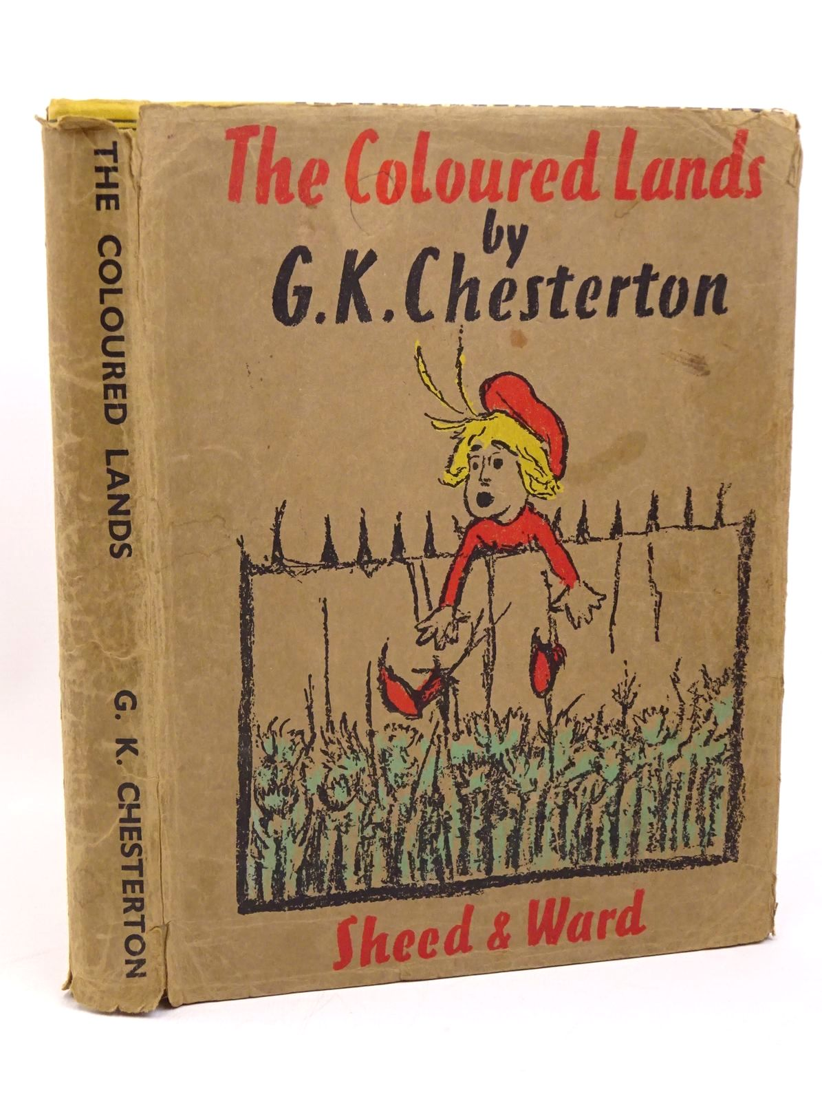 Photo of THE COLOURED LANDS written by Chesterton, G.K. illustrated by Chesterton, G.K. published by Sheed & Ward (STOCK CODE: 1317820)  for sale by Stella & Rose's Books
