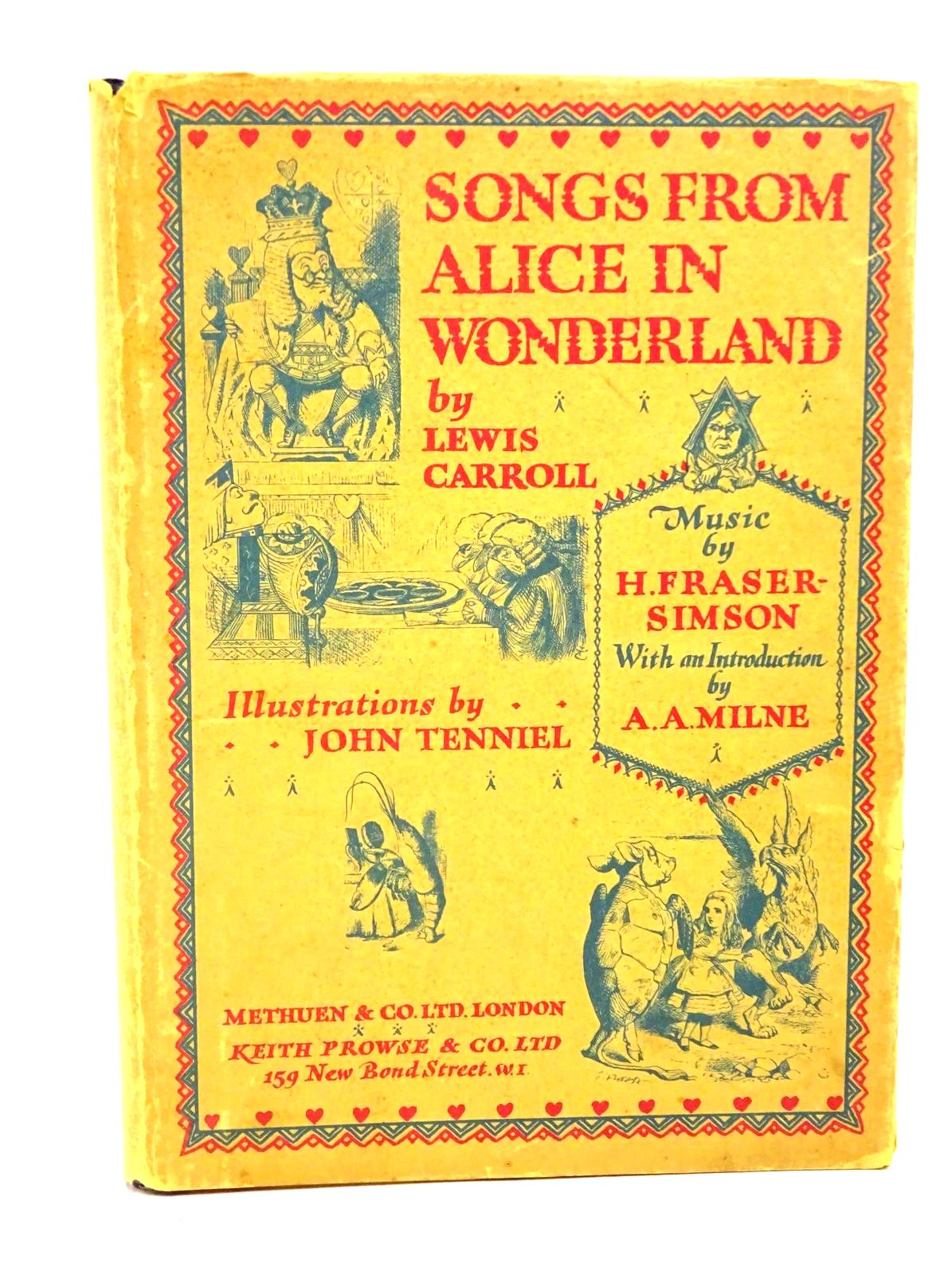 Photo of SONGS FROM ALICE IN WONDERLAND- Stock Number: 1317821