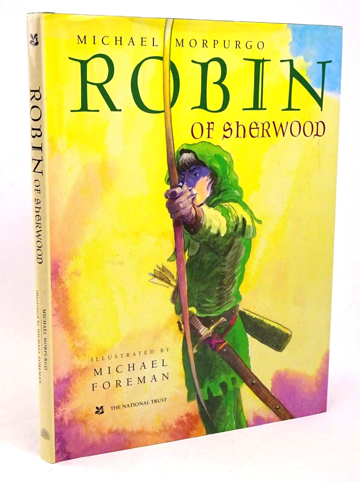Photo of ROBIN OF SHERWOOD written by Morpurgo, Michael illustrated by Foreman, Michael published by Pavilion Books Ltd. (STOCK CODE: 1317822)  for sale by Stella & Rose's Books