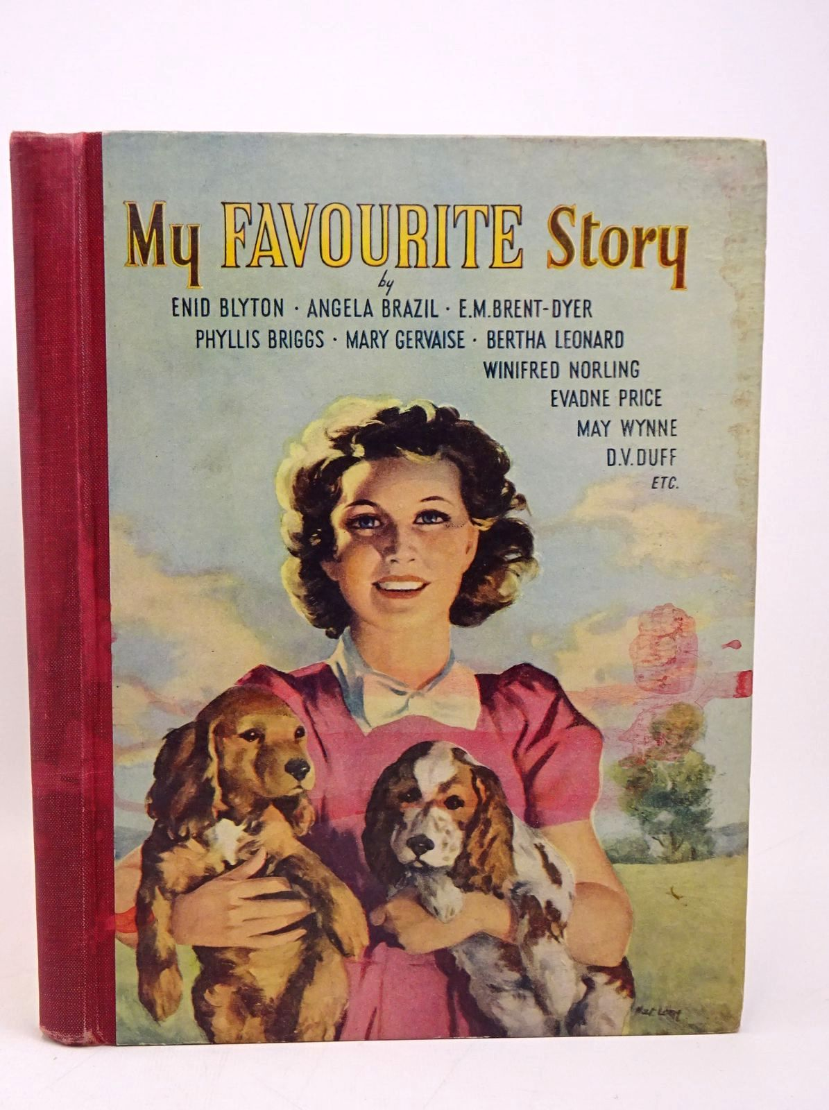 Photo of MY FAVOURITE STORY written by Blyton, Enid<br />Brazil, Angela<br />Brent-Dyer, Elinor M.<br />et al,  illustrated by Hickling, P.B. published by The Thames Publishing Co. (STOCK CODE: 1317827)  for sale by Stella & Rose's Books