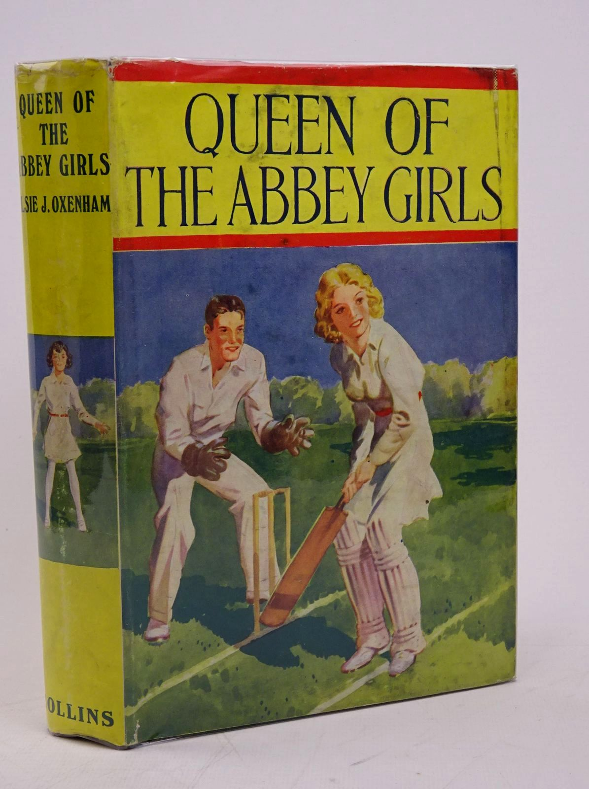 Photo of QUEEN OF THE ABBEY GIRLS written by Oxenham, Elsie J. published by Collins (STOCK CODE: 1317836)  for sale by Stella & Rose's Books