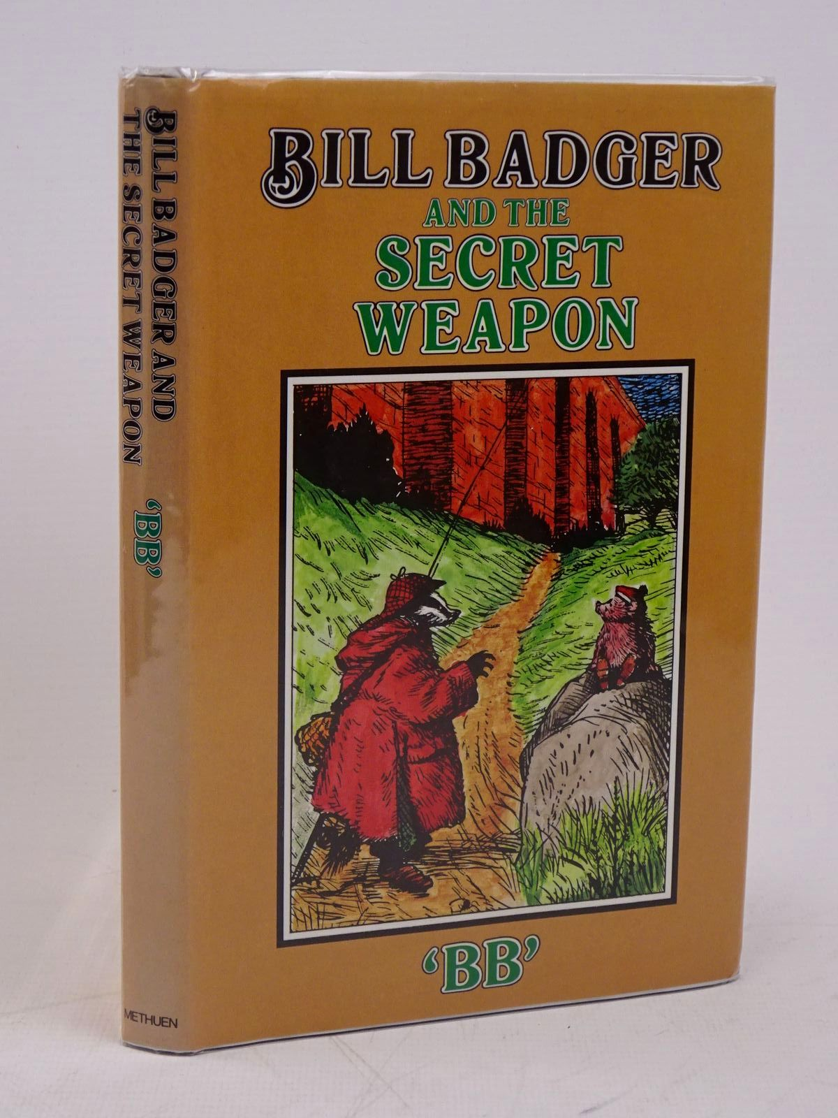 Photo of BILL BADGER AND THE SECRET WEAPON written by BB,  illustrated by BB,  published by Methuen Children's Books (STOCK CODE: 1317862)  for sale by Stella & Rose's Books