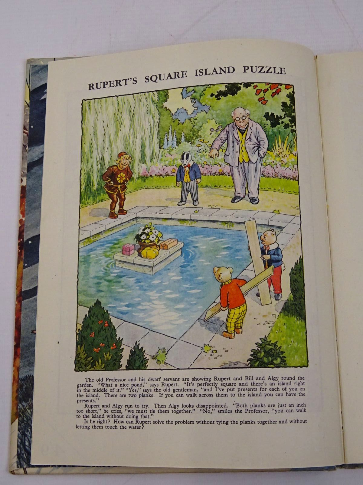 Photo of RUPERT ANNUAL 1951 - THE NEW RUPERT BOOK written by Bestall, Alfred illustrated by Bestall, Alfred published by Daily Express (STOCK CODE: 1317865)  for sale by Stella & Rose's Books