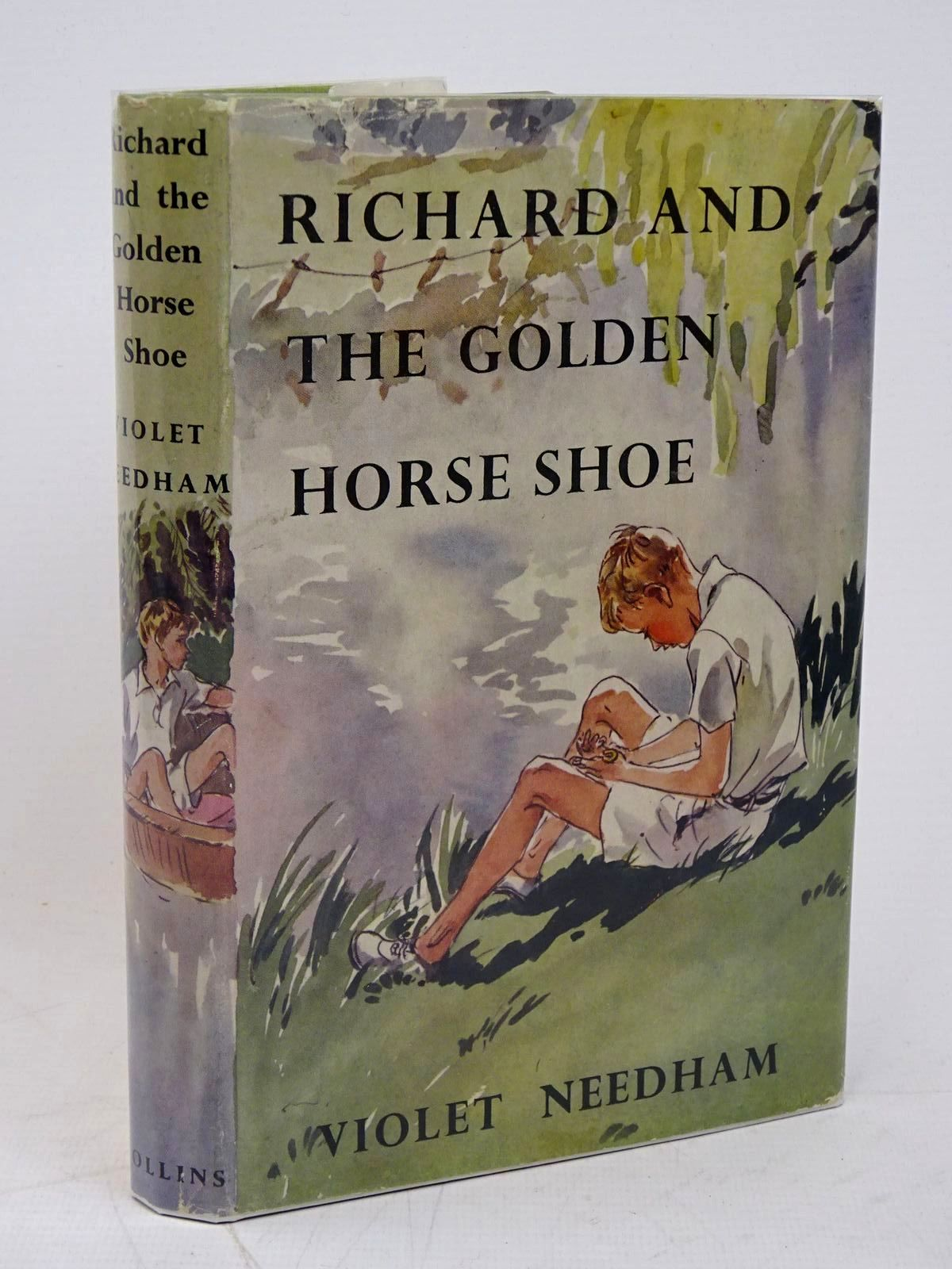 Photo of RICHARD AND THE GOLDEN HORSE SHOE written by Needham, Violet illustrated by Bruce, Joyce published by Collins (STOCK CODE: 1317868)  for sale by Stella & Rose's Books
