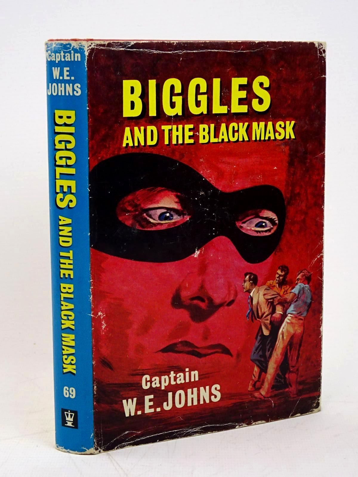 Photo of BIGGLES AND THE BLACK MASK written by Johns, W.E. illustrated by Stead,  published by Hodder & Stoughton (STOCK CODE: 1317871)  for sale by Stella & Rose's Books