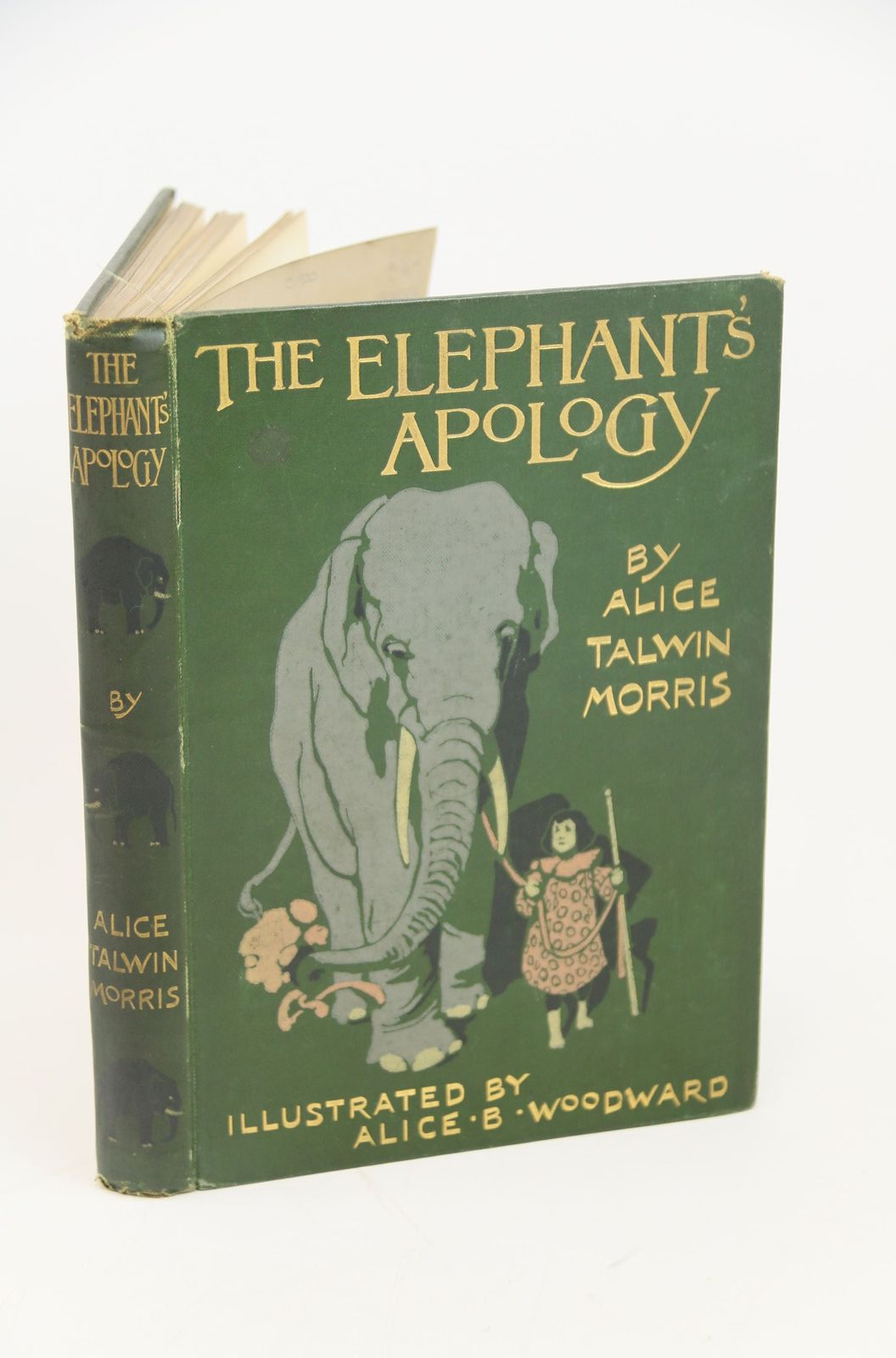 Photo of THE ELEPHANT'S APOLOGY written by Morris, Alice Talwin illustrated by Woodward, Alice B. published by Blackie & Son Ltd. (STOCK CODE: 1317877)  for sale by Stella & Rose's Books