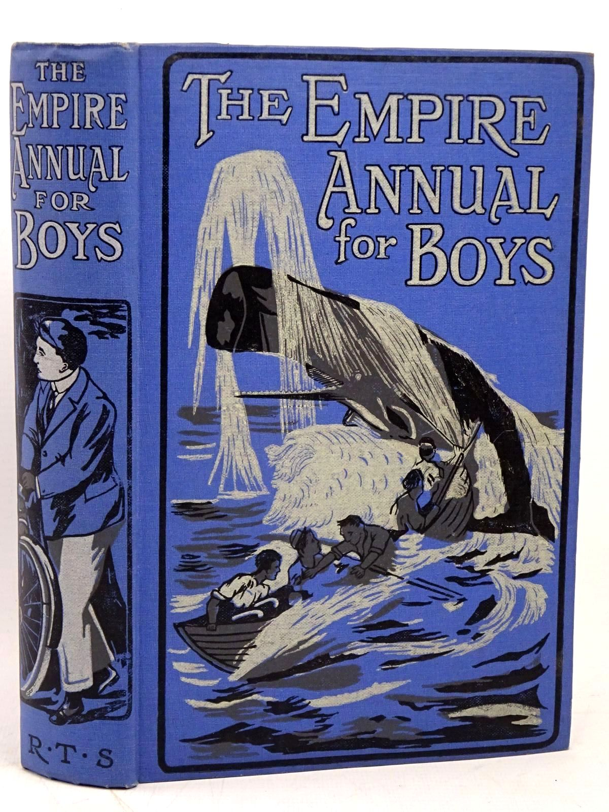 Photo of THE EMPIRE ANNUAL FOR BOYS written by Colbeck, Alfred Haydon, A.L. Methley, Violet M. et al, published by The Religious Tract Society (STOCK CODE: 1317897)  for sale by Stella & Rose's Books