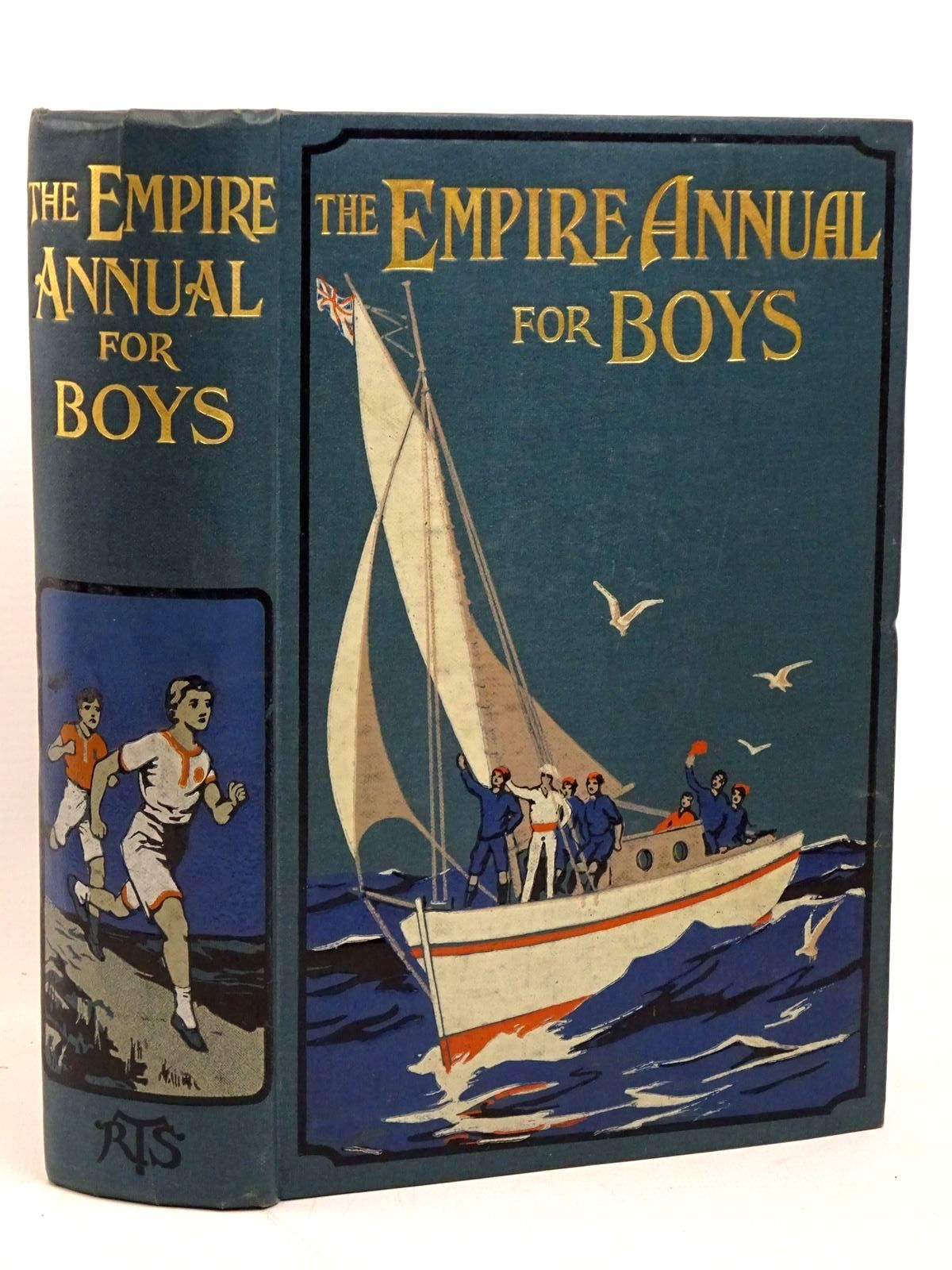 Photo of THE EMPIRE ANNUAL FOR BOYS written by Buckland, A.R. Hyatt, Stanley Portal Reed, Talbot Baines Whymper, F. et al, published by The Religious Tract Society (STOCK CODE: 1317898)  for sale by Stella & Rose's Books