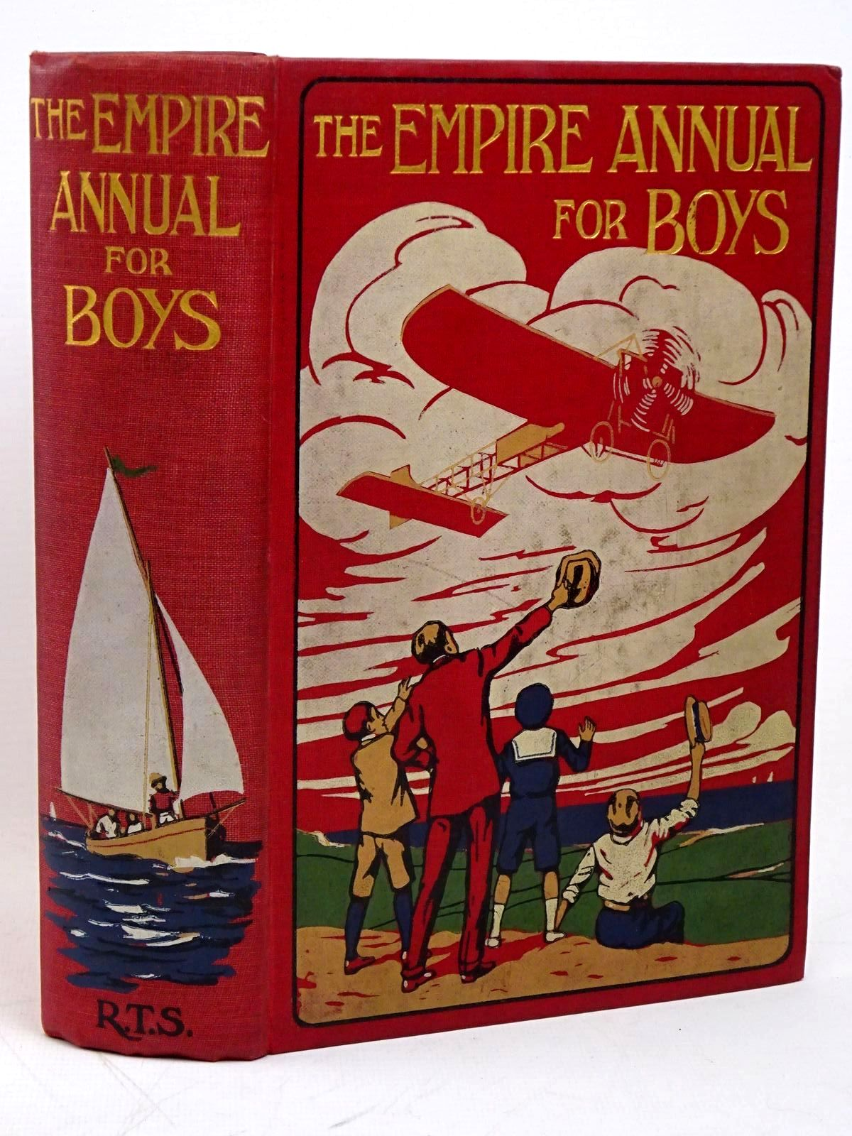 Photo of THE EMPIRE ANNUAL FOR BOYS written by Buckland, A.R.<br />Whyte, Wolmer<br />Bevan, Tom<br />et al, published by The Religious Tract Society (STOCK CODE: 1317899)  for sale by Stella & Rose's Books