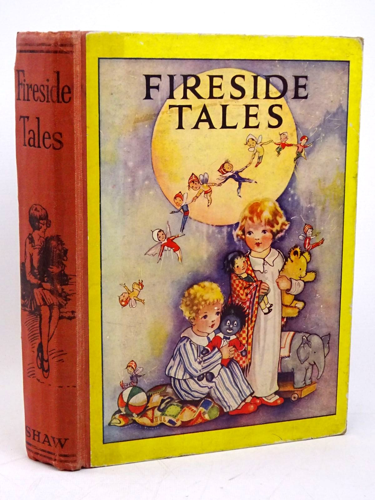 Photo of FIRESIDE TALES written by Owsley, Sibyl B. illustrated by Temple, Chris G. published by John F. Shaw & Co Ltd. (STOCK CODE: 1317930)  for sale by Stella & Rose's Books