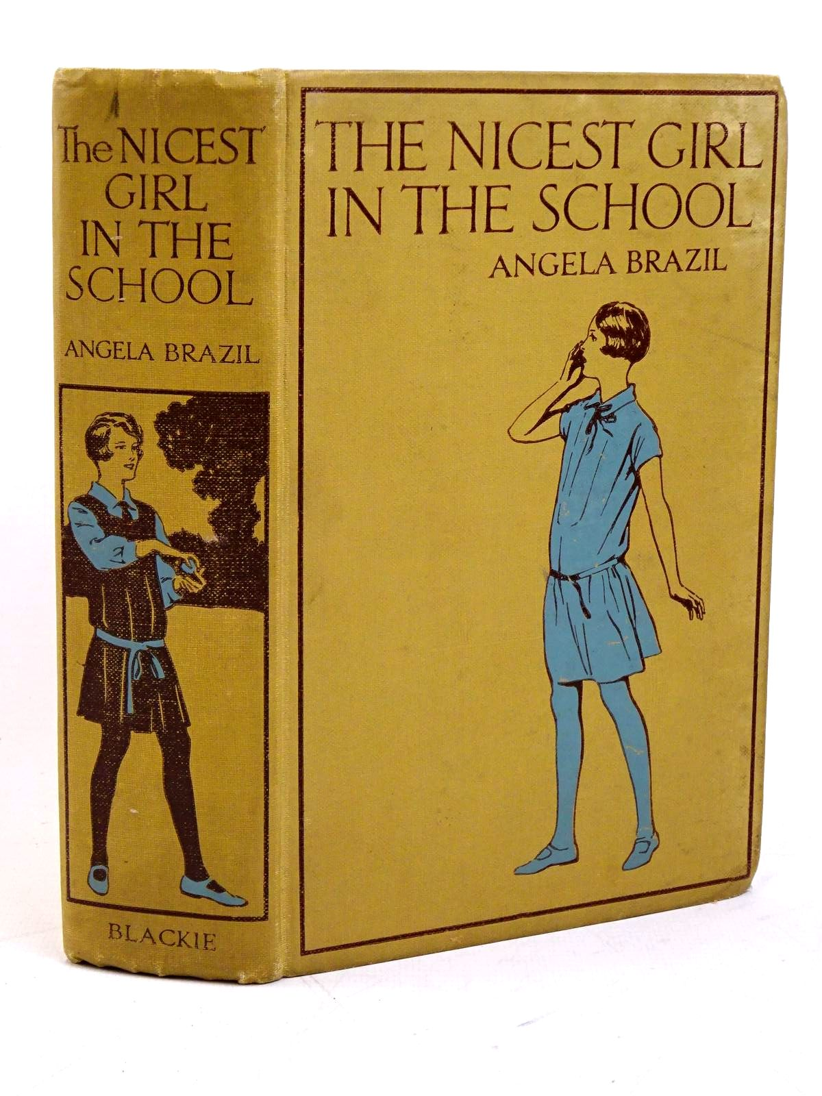 Photo of THE NICEST GIRL IN THE SCHOOL written by Brazil, Angela illustrated by Bacon, H.L. published by Blackie & Son Ltd. (STOCK CODE: 1317949)  for sale by Stella & Rose's Books