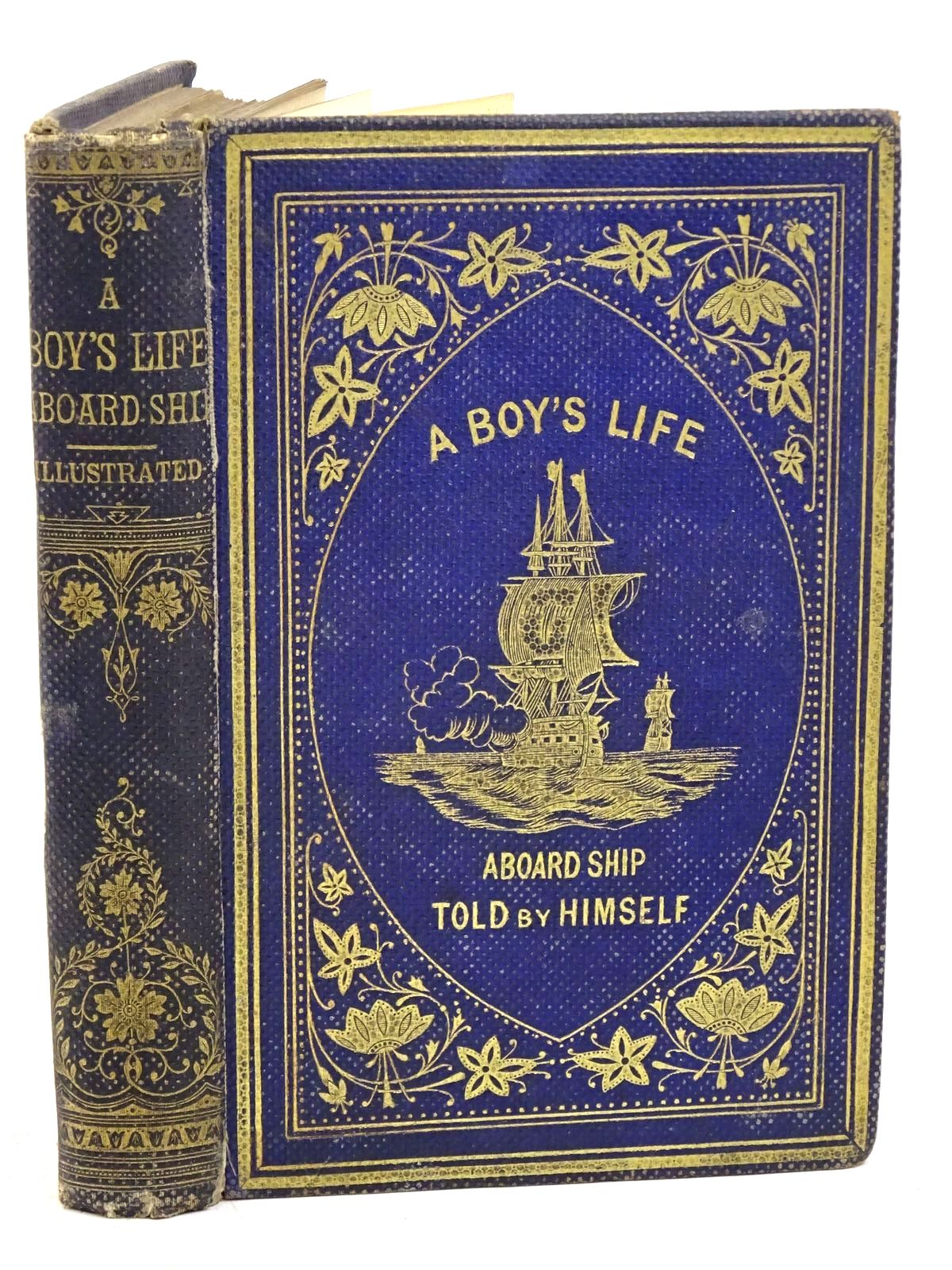 Photo of A BOY'S LIFE ABOARD SHIP published by Ward & Lock (STOCK CODE: 1317964)  for sale by Stella & Rose's Books