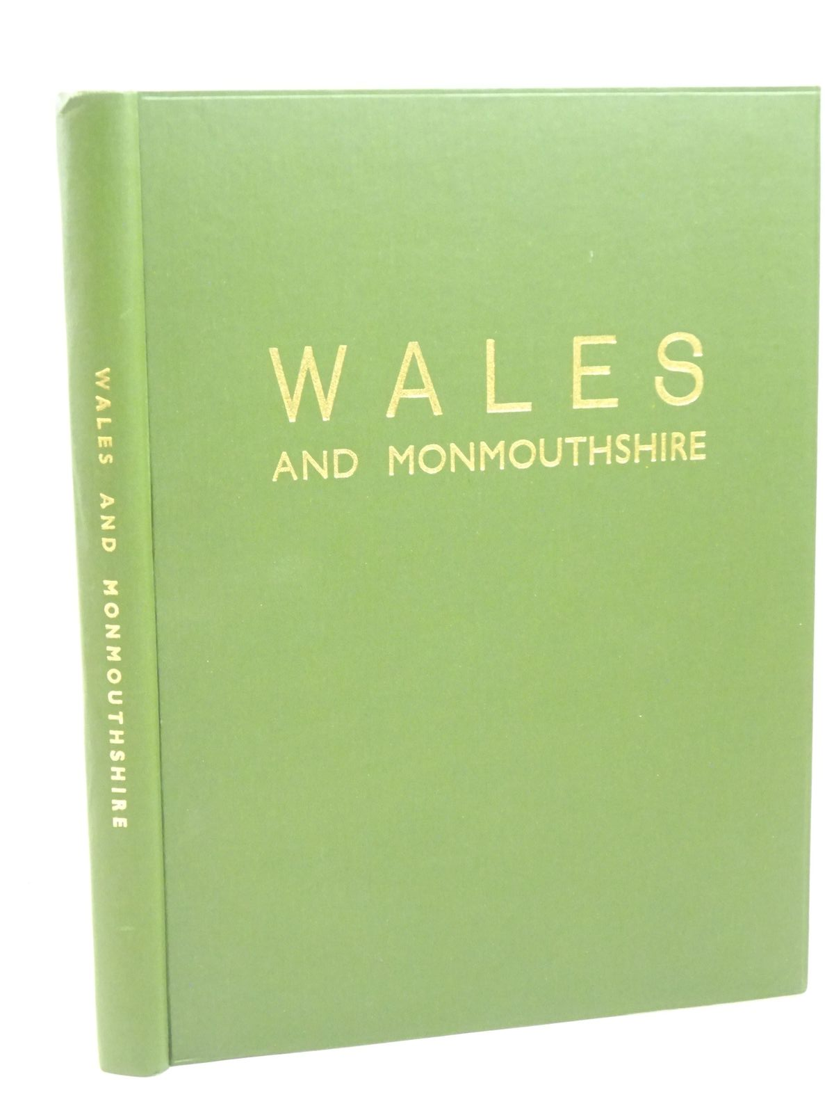Photo of WALES AND MONMOUTHSHIRE written by Davies, D.J. et al, published by Ed. J. Burrow & Co. Ltd. (STOCK CODE: 1317976)  for sale by Stella & Rose's Books