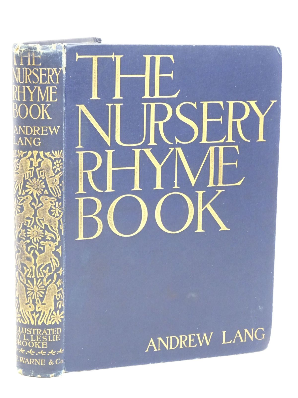 Photo of THE NURSERY RHYME BOOK written by Lang, Andrew illustrated by Brooke, L. Leslie published by Frederick Warne & Co. (STOCK CODE: 1317995)  for sale by Stella & Rose's Books