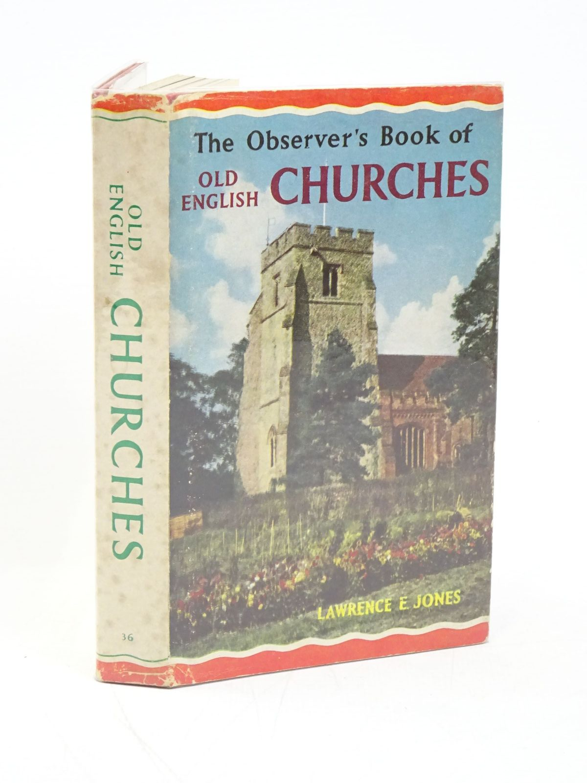 Photo of THE OBSERVER'S BOOK OF OLD ENGLISH CHURCHES written by Jones, Lawrence E. illustrated by New, A.S.B. published by Frederick Warne & Co Ltd. (STOCK CODE: 1318004)  for sale by Stella & Rose's Books
