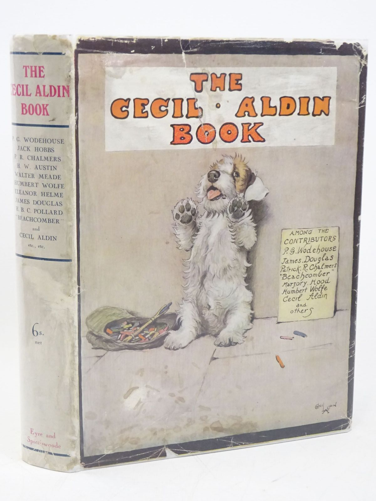 Photo of THE CECIL ALDIN BOOK- Stock Number: 1318011