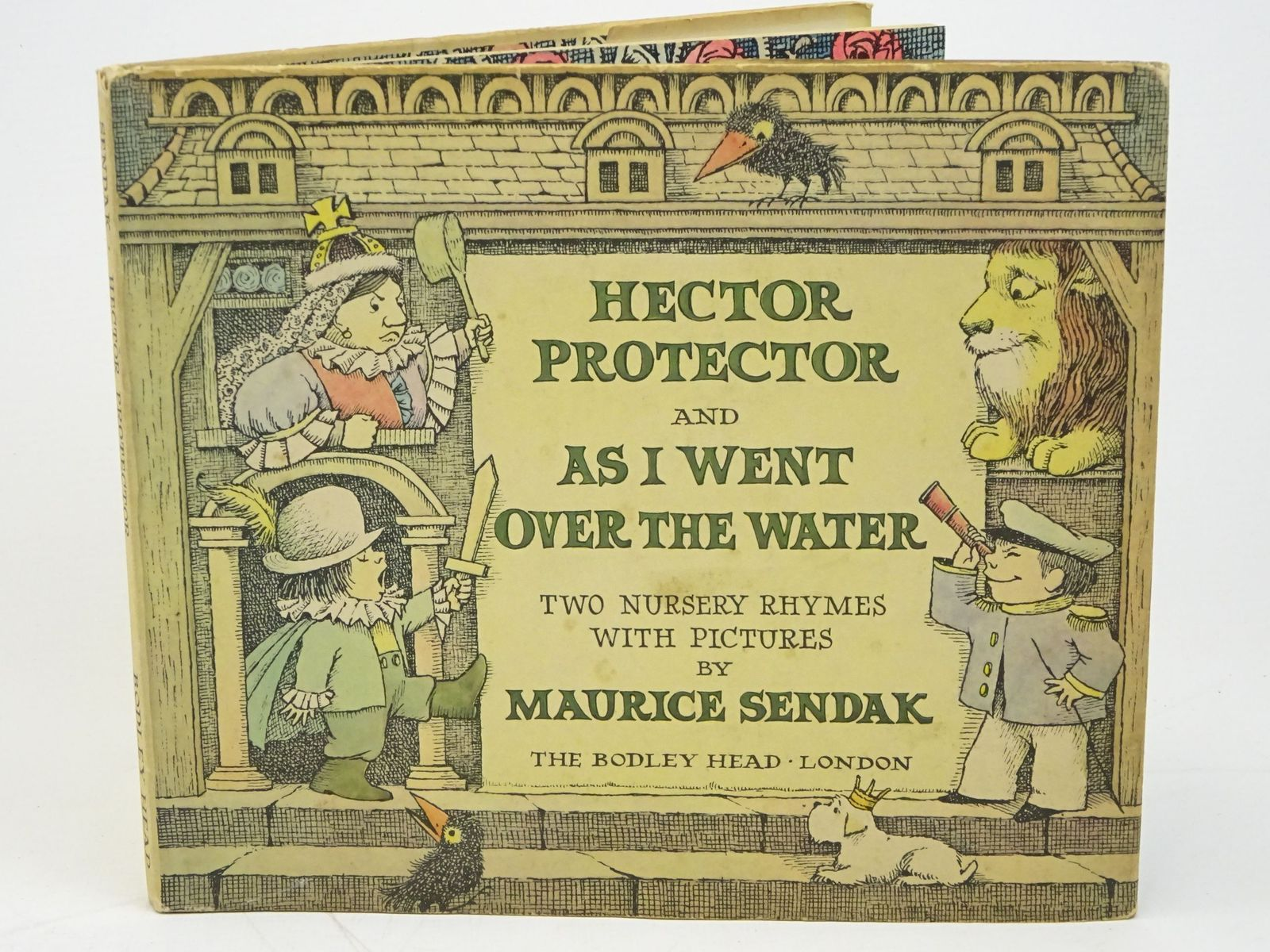 Photo of HECTOR PROTECTOR AND AS I WENT OVER THE WATER written by Sendak, Maurice illustrated by Sendak, Maurice published by The Bodley Head (STOCK CODE: 1318026)  for sale by Stella & Rose's Books