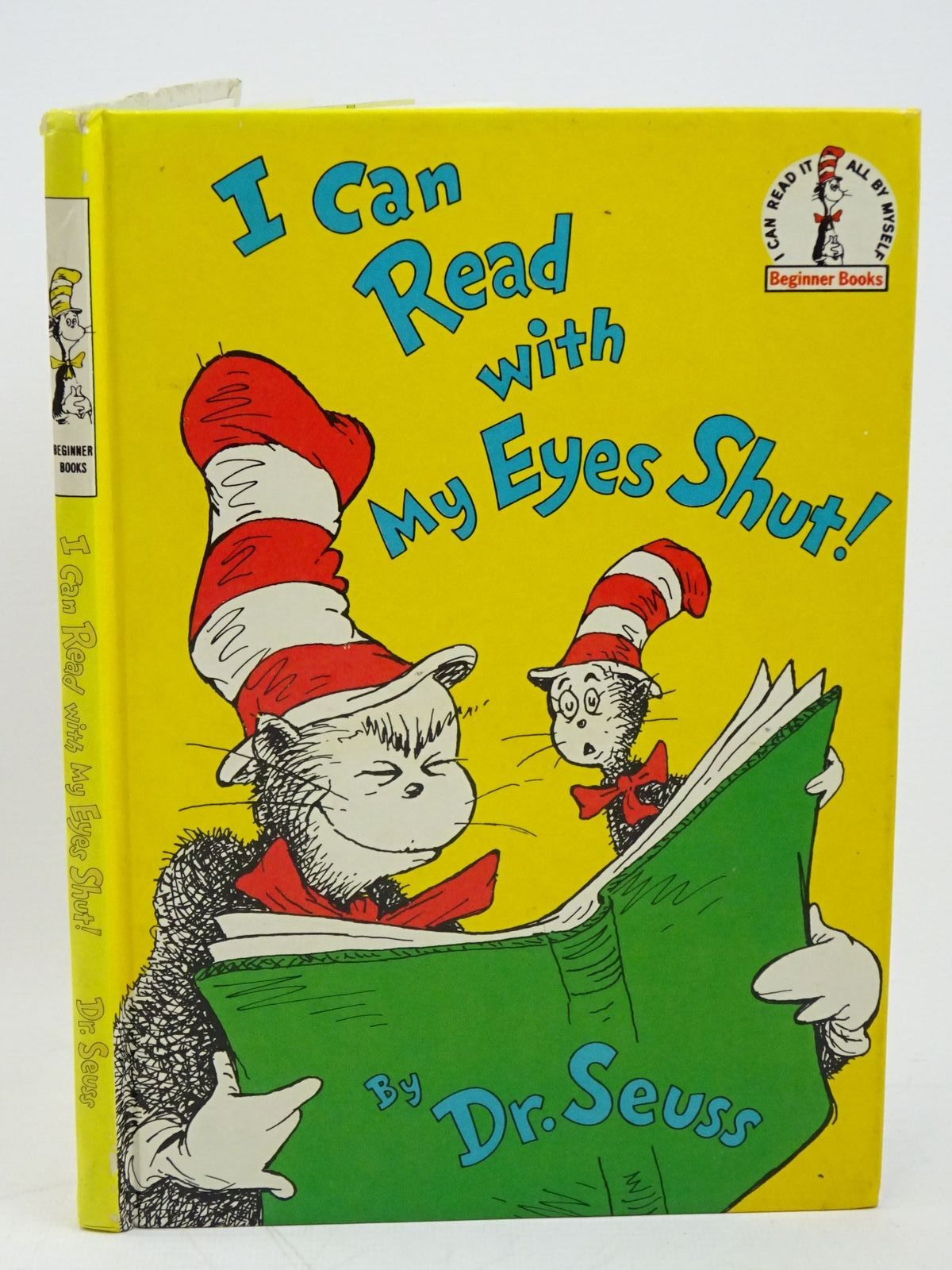 Photo of I CAN READ WITH MY EYES SHUT! written by Seuss, Dr. illustrated by Seuss, Dr. published by Collins (STOCK CODE: 1318028)  for sale by Stella & Rose's Books
