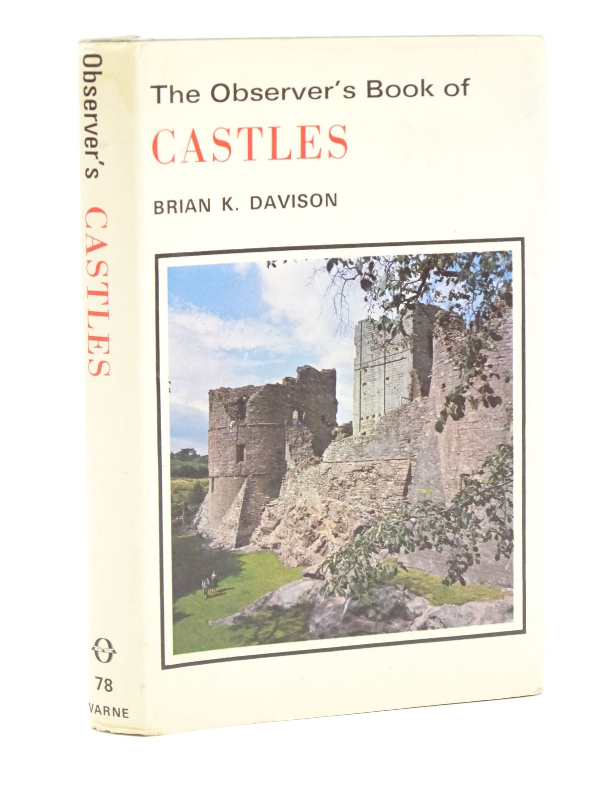 Photo of THE OBSERVER'S BOOK OF CASTLES written by Davison, Brian K. illustrated by Dimond, Jasper published by Frederick Warne (STOCK CODE: 1318048)  for sale by Stella & Rose's Books
