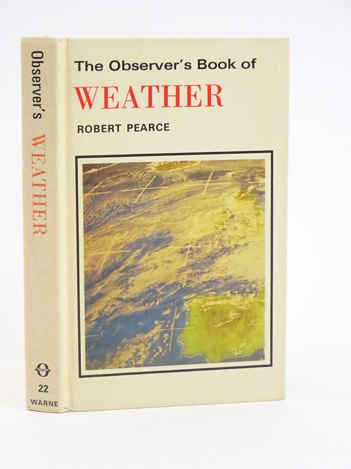 Photo of THE OBSERVER'S BOOK OF WEATHER- Stock Number: 1318050