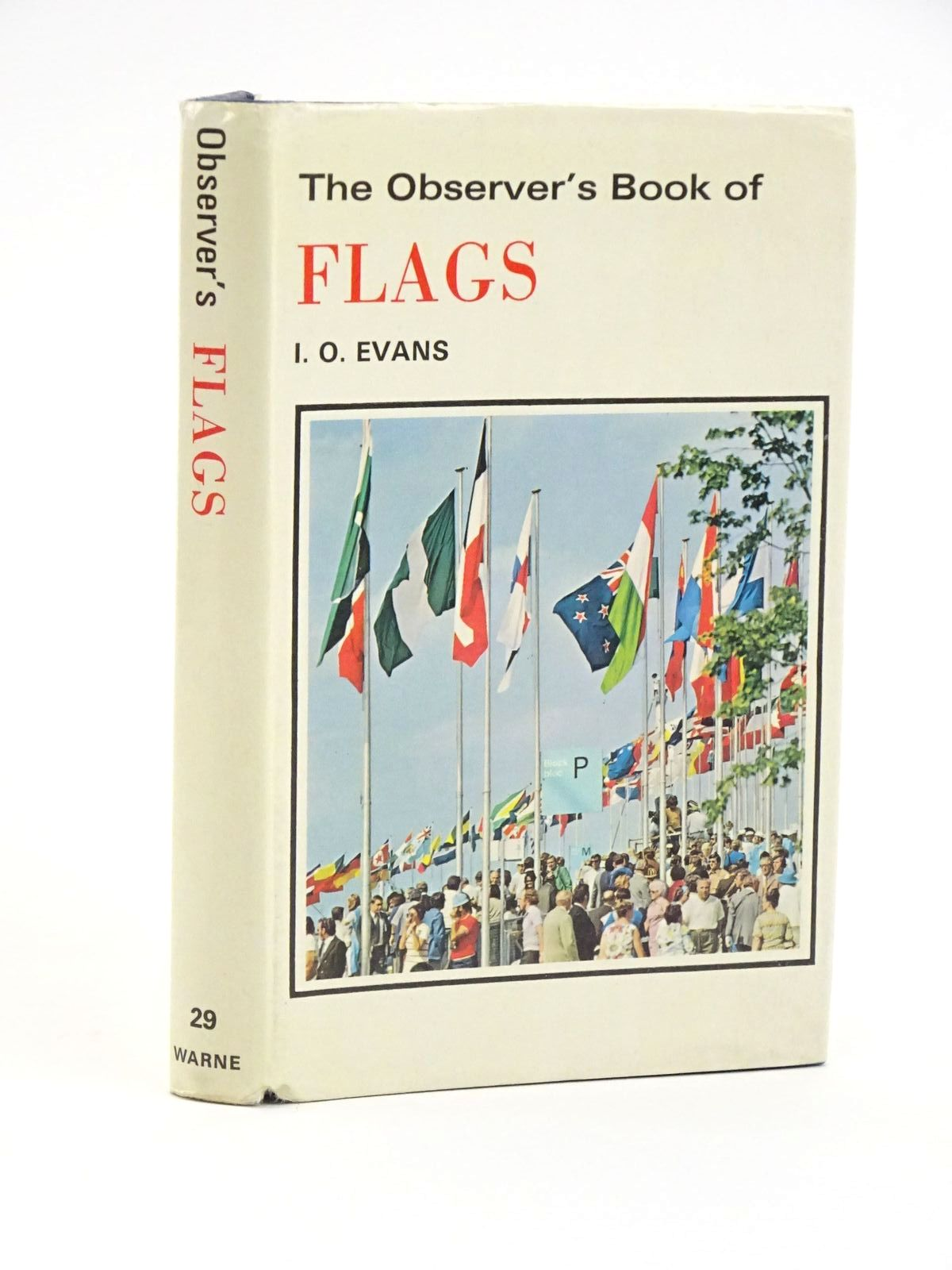 Photo of THE OBSERVER'S BOOK OF FLAGS- Stock Number: 1318054
