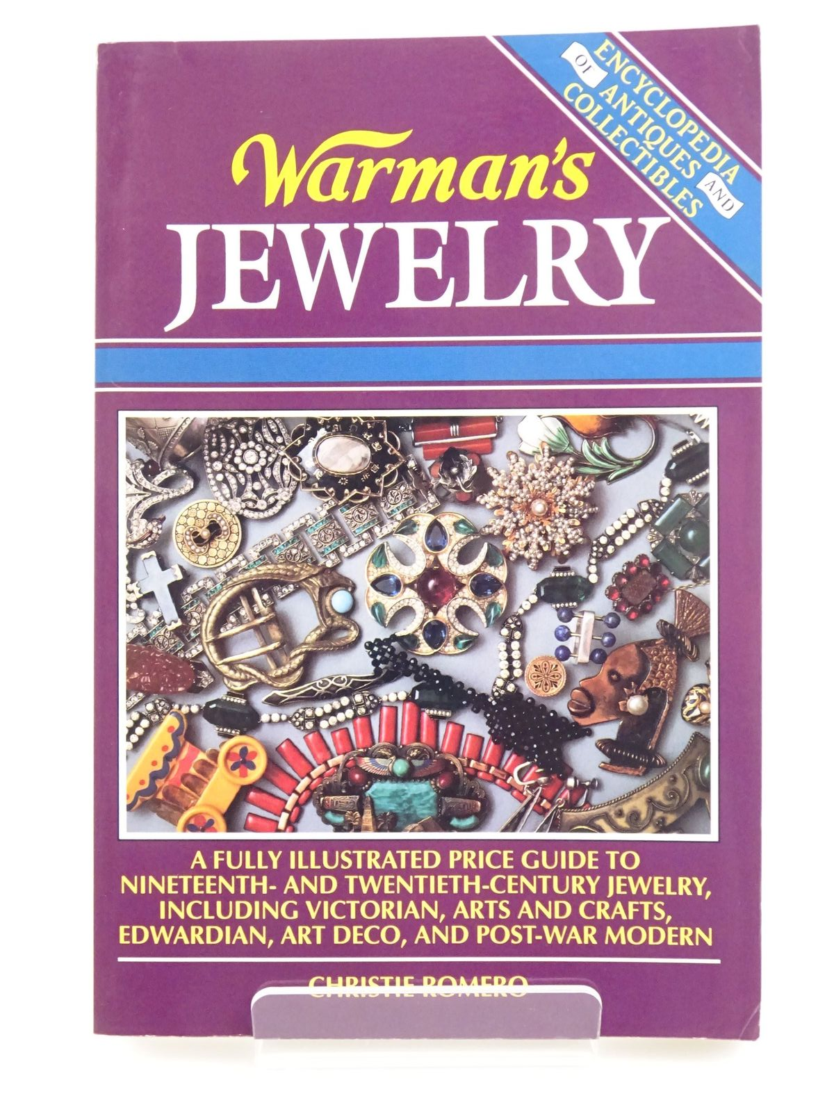 Photo of WARMAN'S JEWELRY written by Romero, Christie published by Wallace-Homestead Book Company (STOCK CODE: 1318066)  for sale by Stella & Rose's Books