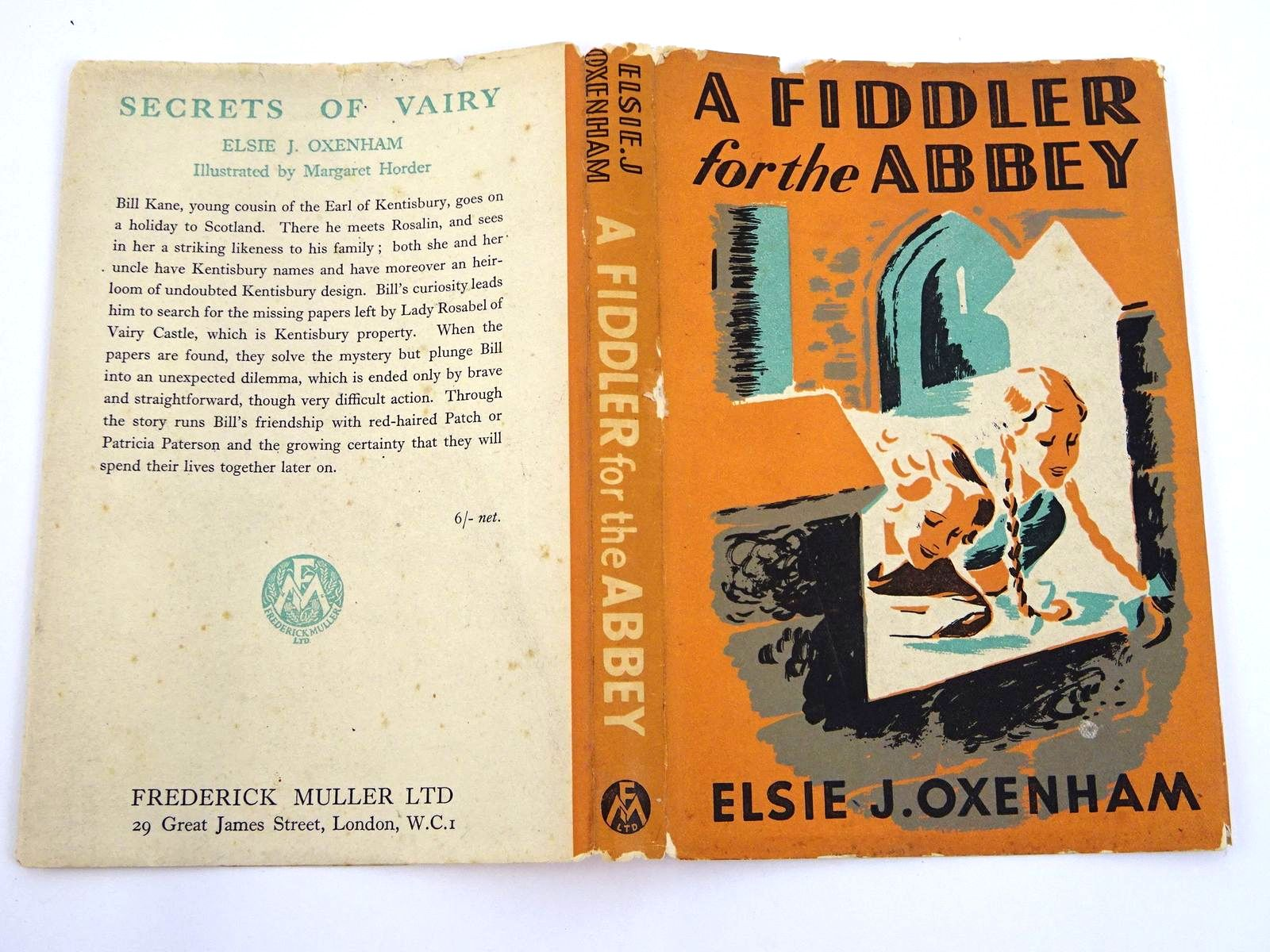 Photo of A FIDDLER FOR THE ABBEY written by Oxenham, Elsie J. illustrated by Horder, Margaret published by Frederick Muller Ltd. (STOCK CODE: 1318082)  for sale by Stella & Rose's Books