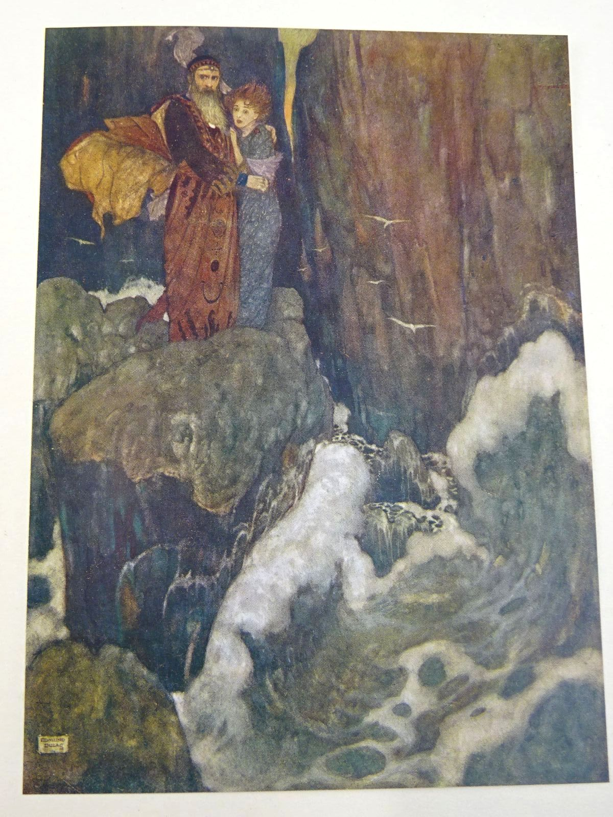 Photo of SHAKESPEARE'S COMEDY OF THE TEMPEST written by Shakespeare, William illustrated by Dulac, Edmund published by Hodder & Stoughton (STOCK CODE: 1318102)  for sale by Stella & Rose's Books