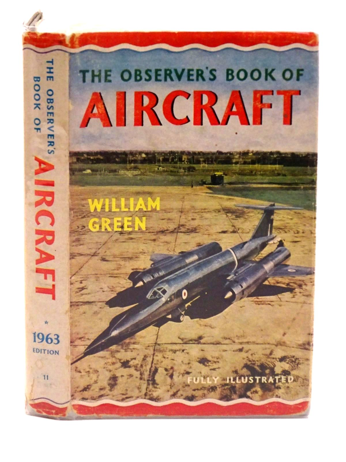 Photo of THE OBSERVER'S BOOK OF AIRCRAFT written by Green, William illustrated by Punnett, Dennis published by Frederick Warne & Co Ltd. (STOCK CODE: 1318104)  for sale by Stella & Rose's Books