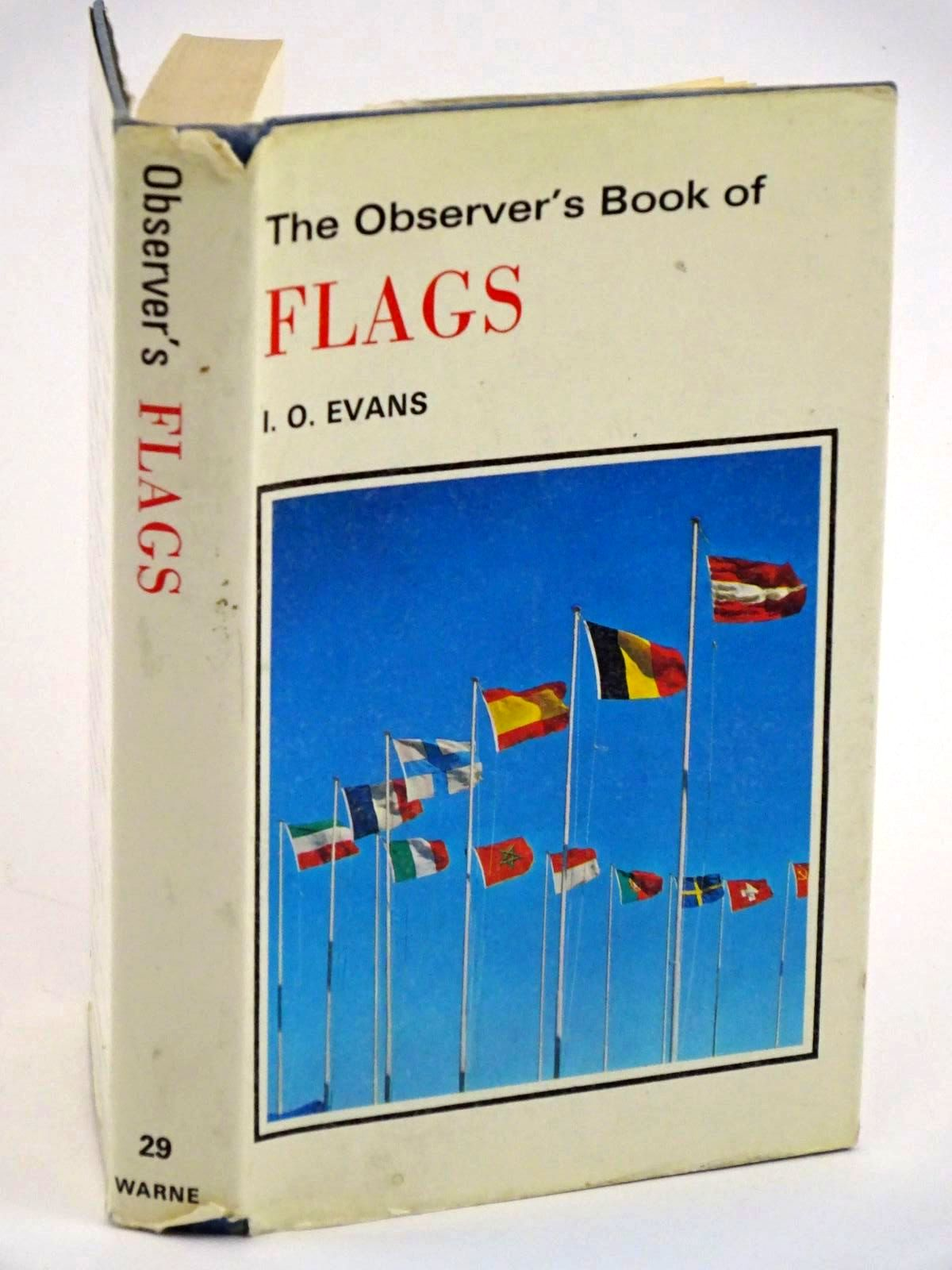 Photo of THE OBSERVER'S BOOK OF FLAGS- Stock Number: 1318116