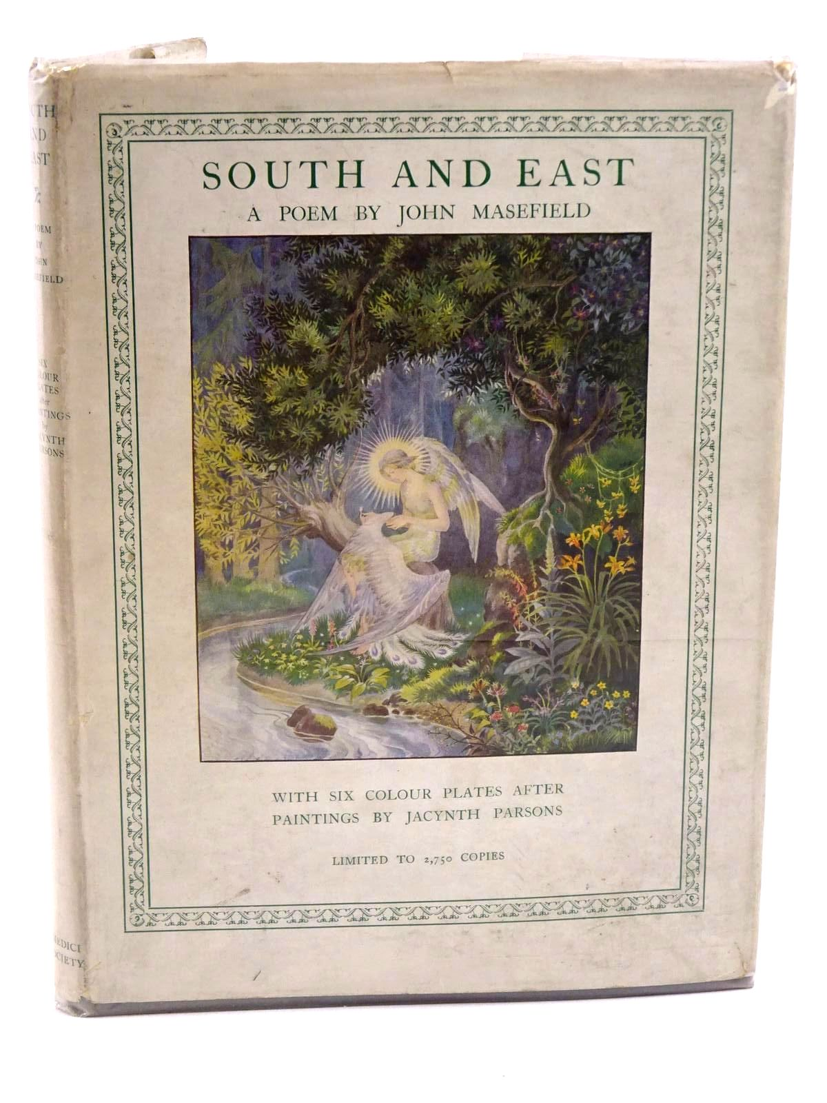 Photo of SOUTH AND EAST written by Masefield, John illustrated by Parsons, Jacynth published by The Medici Society (STOCK CODE: 1318119)  for sale by Stella & Rose's Books