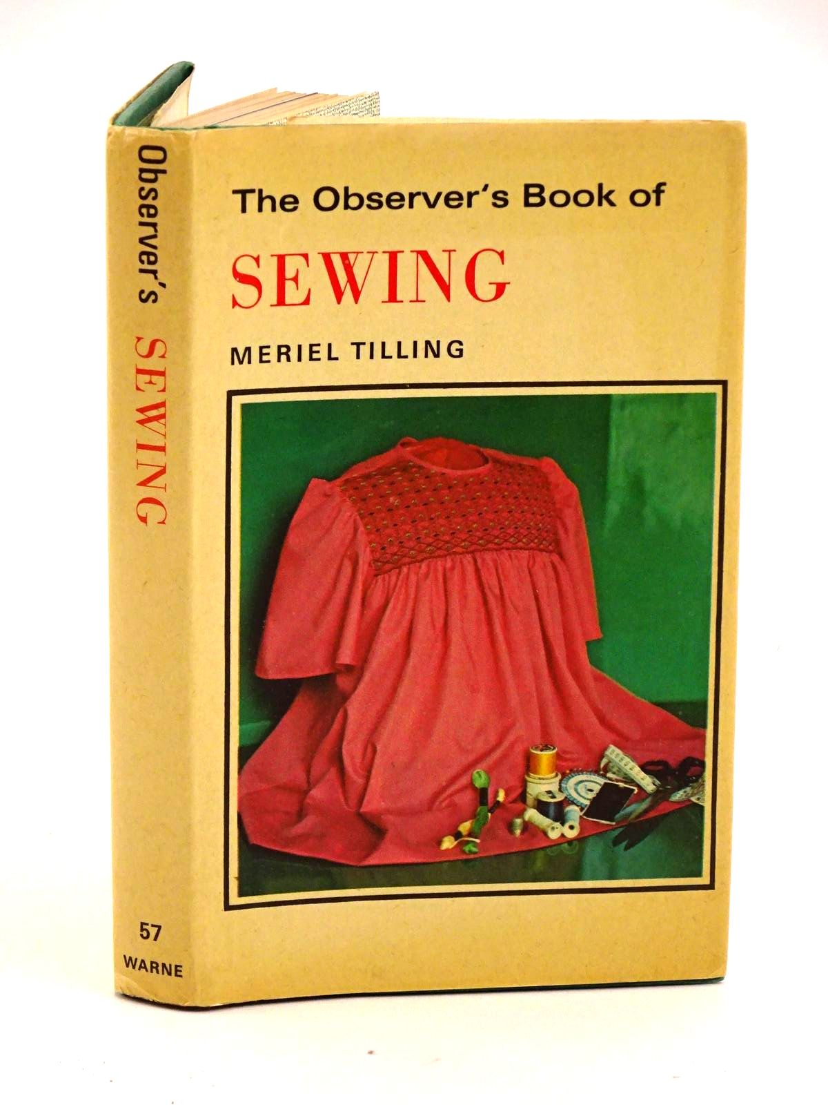 Photo of THE OBSERVER'S BOOK OF SEWING written by Tilling, Meriel illustrated by Firth, Barbara published by Frederick Warne & Co Ltd. (STOCK CODE: 1318132)  for sale by Stella & Rose's Books