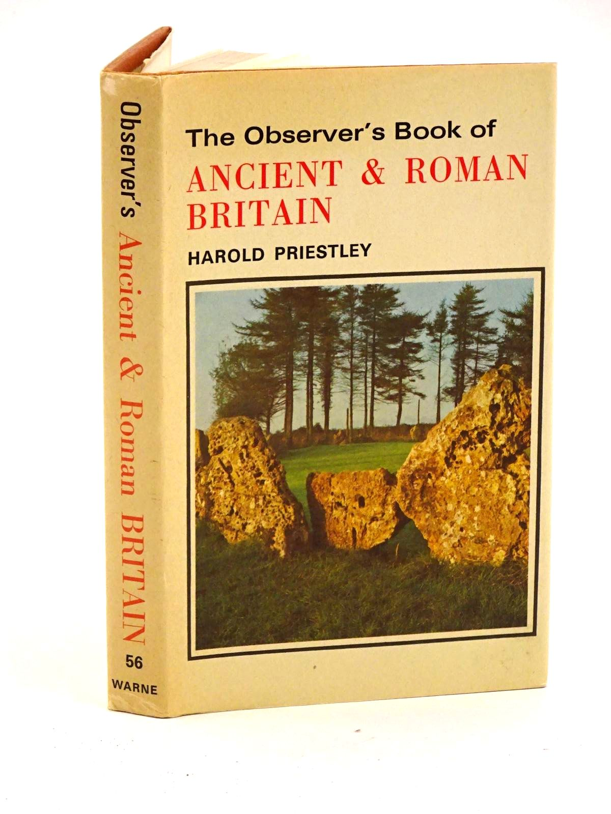 Photo of THE OBSERVER'S BOOK OF ANCIENT AND ROMAN BRITAIN- Stock Number: 1318135