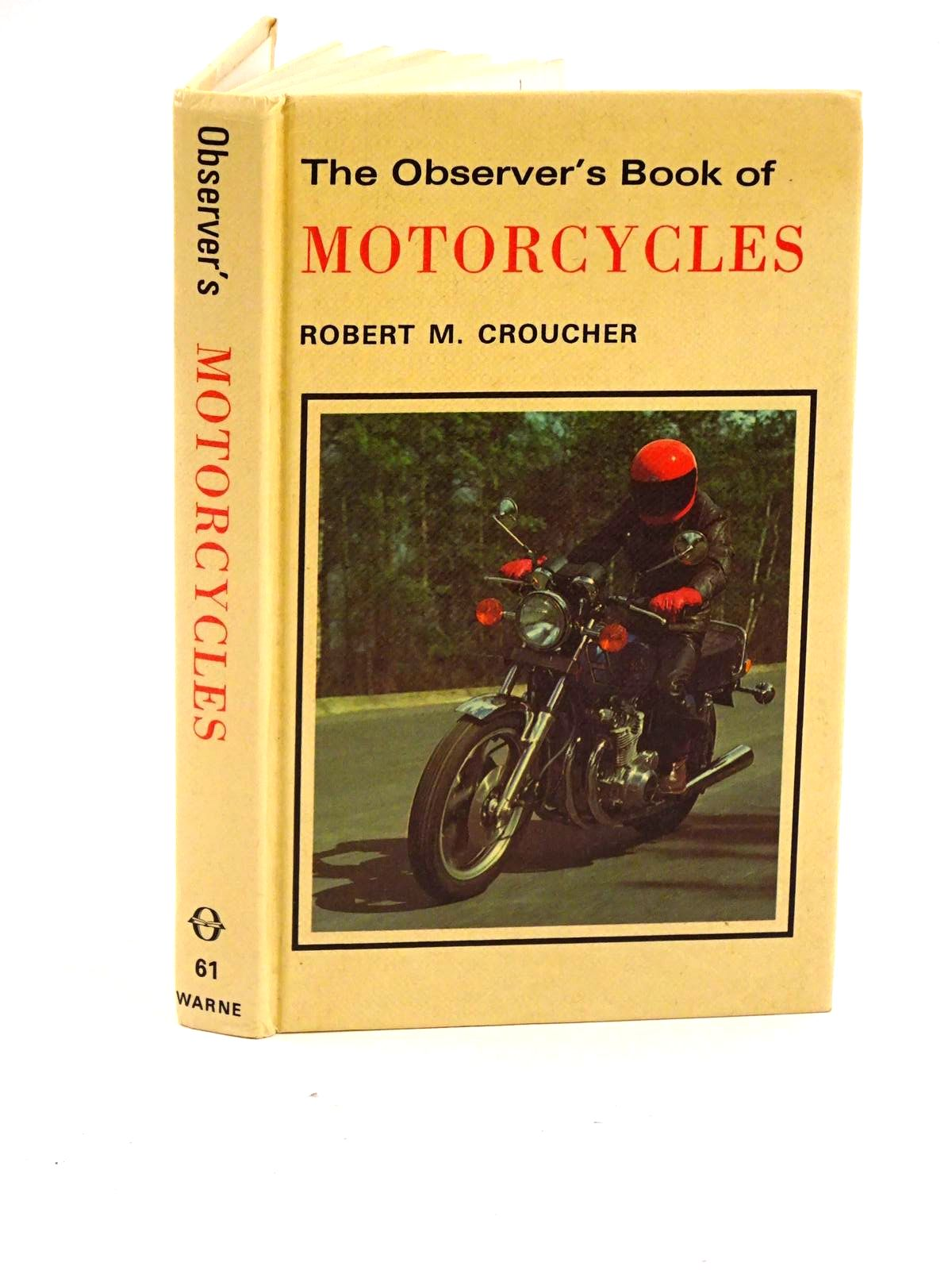Photo of THE OBSERVER'S BOOK OF MOTORCYCLES- Stock Number: 1318136