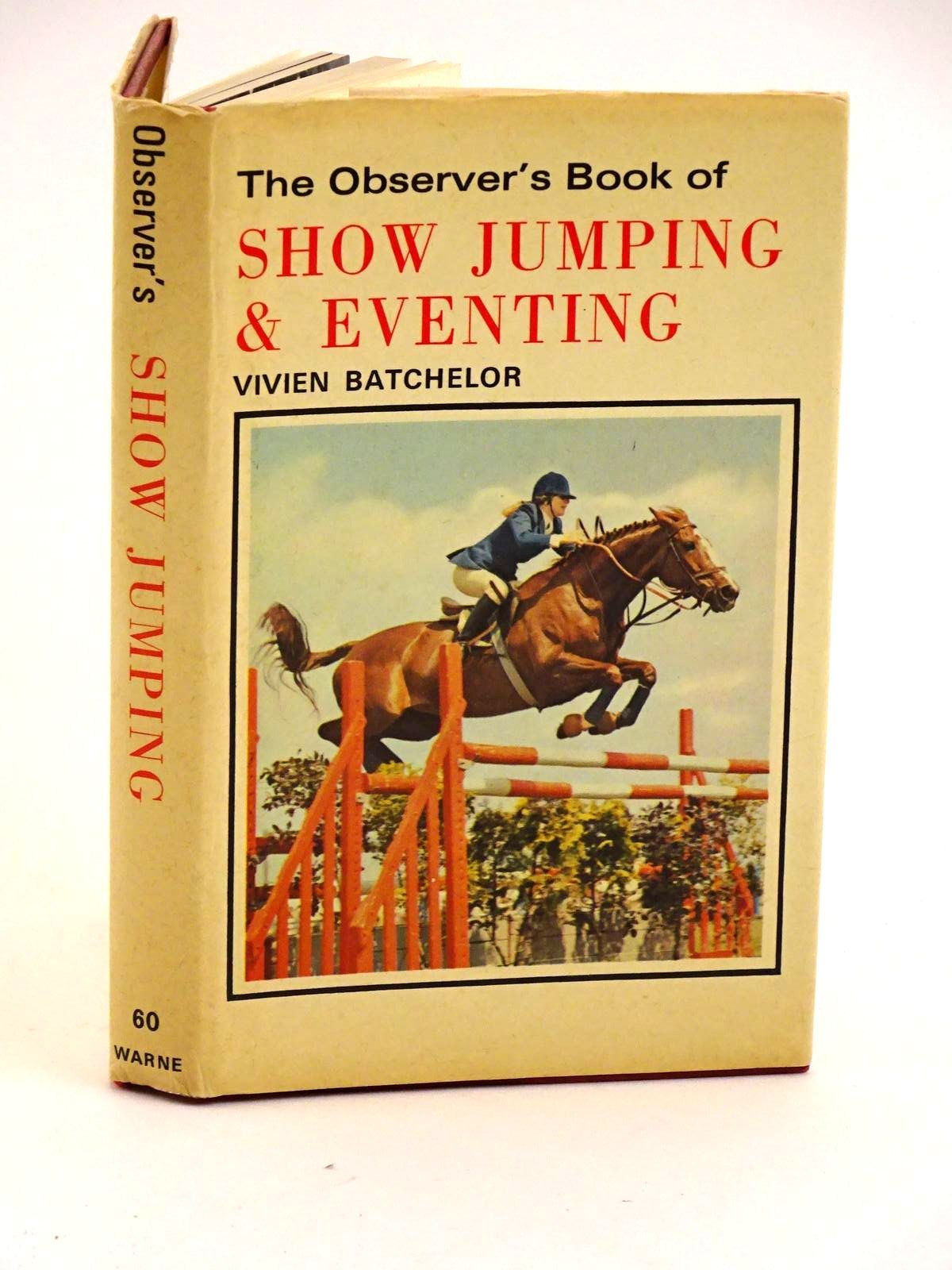Photo of THE OBSERVER'S BOOK OF SHOW JUMPING & EVENTING- Stock Number: 1318137