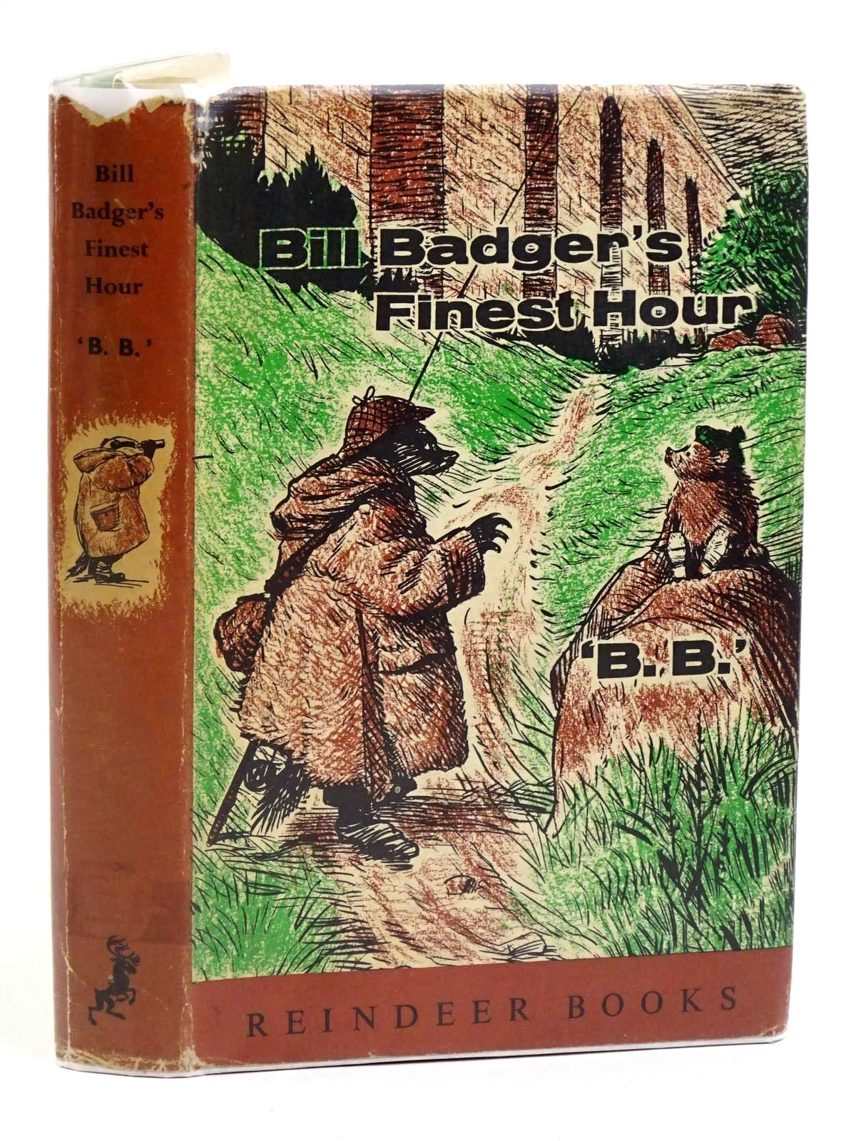 Photo of BILL BADGER'S FINEST HOUR written by BB,  illustrated by BB,  published by Hamish Hamilton (STOCK CODE: 1318148)  for sale by Stella & Rose's Books
