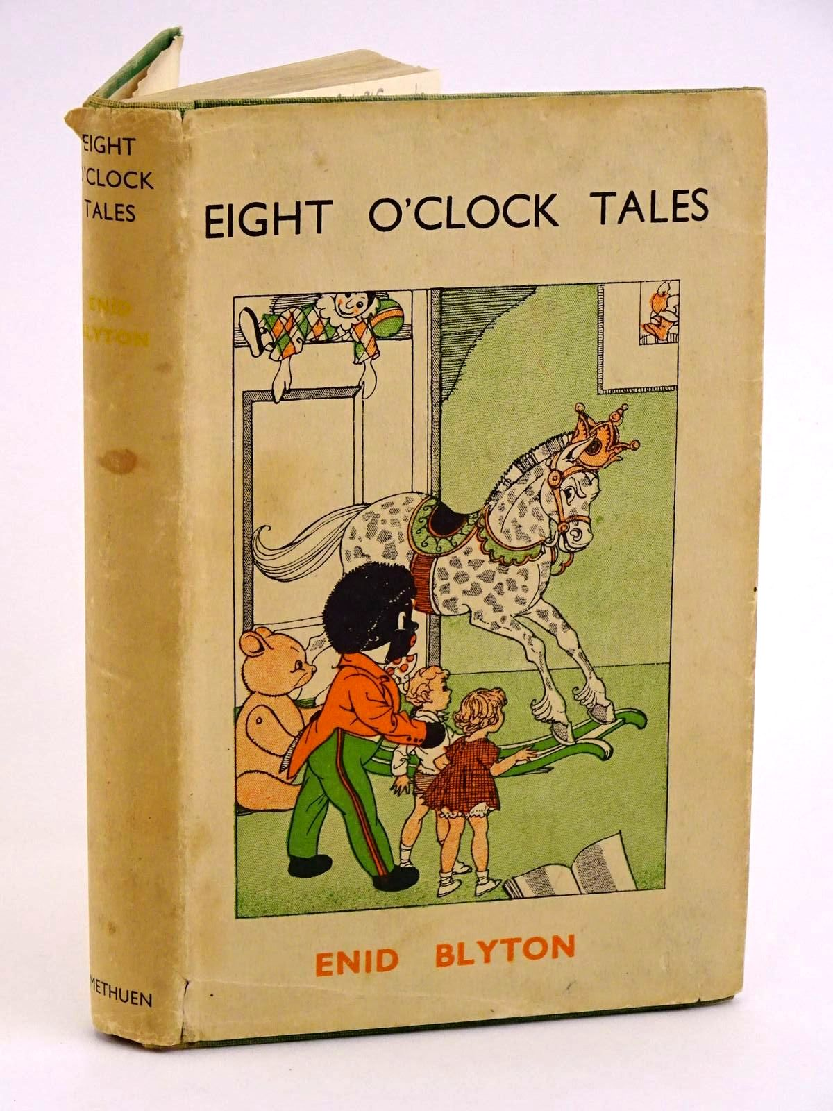 Photo of EIGHT O'CLOCK TALES written by Blyton, Enid illustrated by Wheeler, Dorothy M. published by Methuen & Co. Ltd. (STOCK CODE: 1318152)  for sale by Stella & Rose's Books