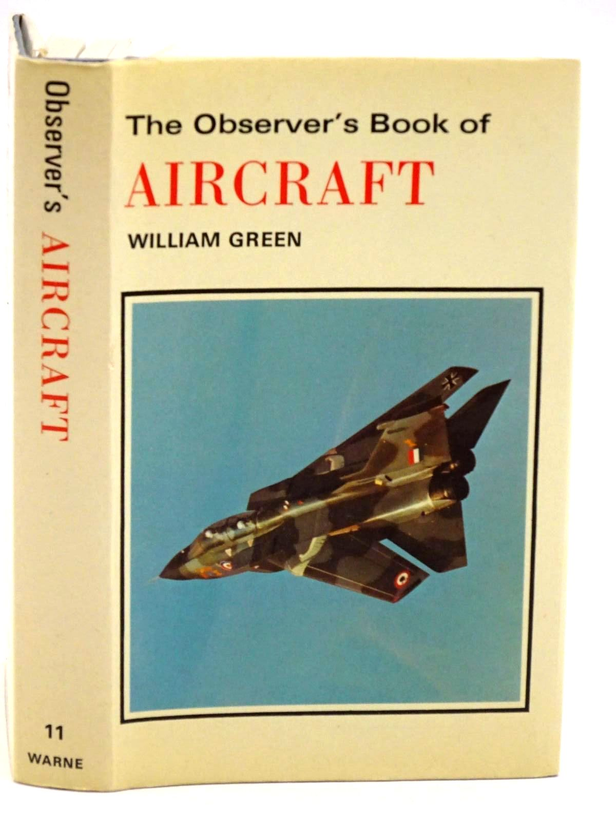 Photo of THE OBSERVER'S BOOK OF AIRCRAFT written by Green, William illustrated by Punnett, Dennis published by Frederick Warne & Co Ltd., Frederick Warne & Co. Inc. (STOCK CODE: 1318169)  for sale by Stella & Rose's Books