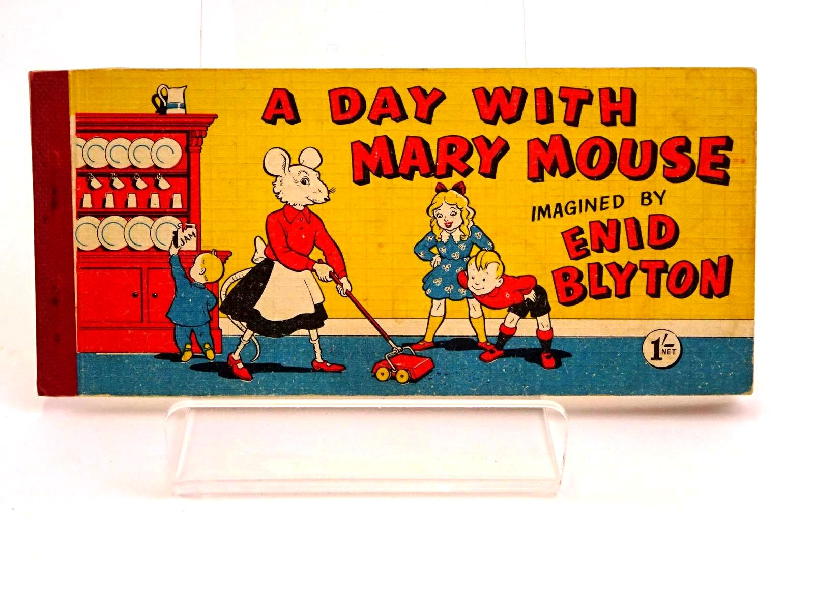 Photo of A DAY WITH MARY MOUSE written by Blyton, Enid illustrated by White, Fred published by Brockhampton Press Ltd. (STOCK CODE: 1318183)  for sale by Stella & Rose's Books
