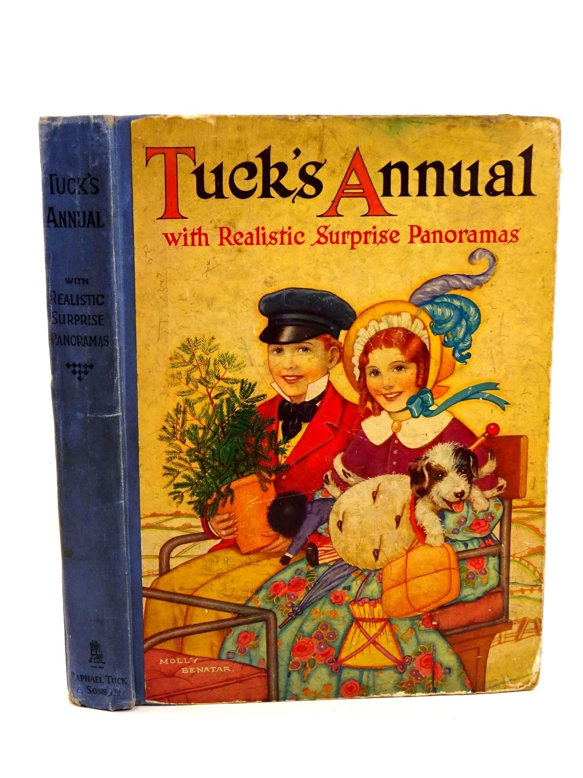 Photo of TUCK'S ANNUAL WITH REALISTIC SURPRISE PANORAMAS written by Rutley, C. Bernard Methley, Violet M. et al, illustrated by Cuneo, T. Adams, Frank Way, R. Barnard et al., published by Raphael Tuck & Sons Ltd. (STOCK CODE: 1318249)  for sale by Stella & Rose's Books