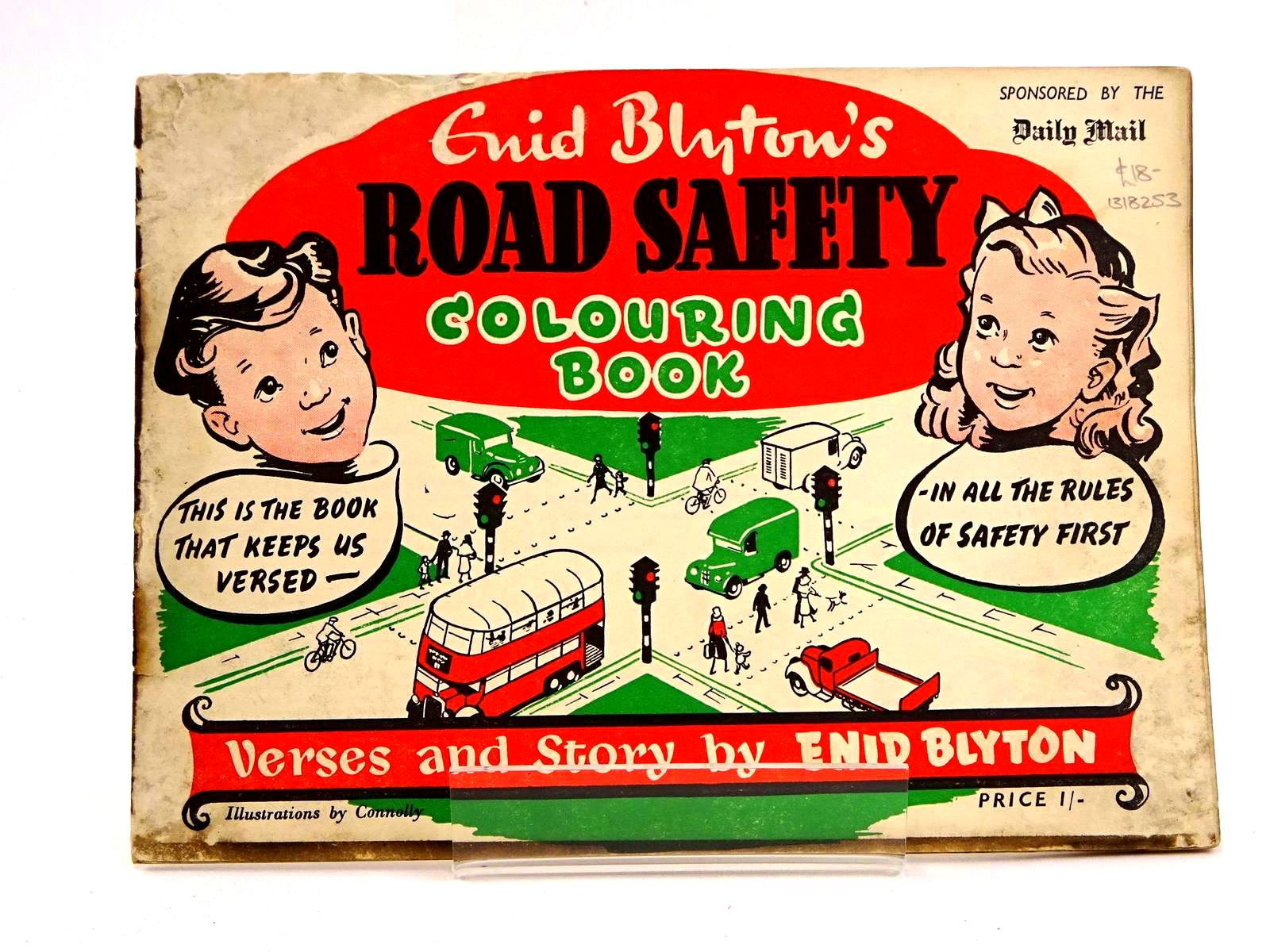 Photo of ENID BLYTON'S ROAD SAFETY COLOURING BOOK- Stock Number: 1318253