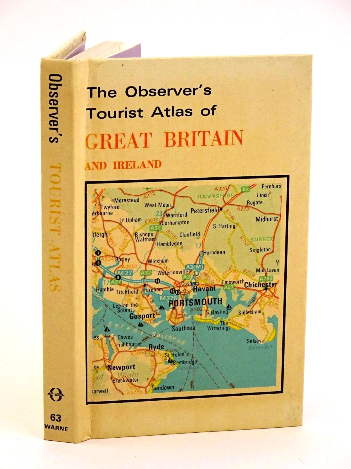 Photo of THE OBSERVER'S TOURIST ATLAS OF GREAT BRITAIN AND IRELAND written by Bartholomew, John published by Frederick Warne & Co Ltd. (STOCK CODE: 1318265)  for sale by Stella & Rose's Books