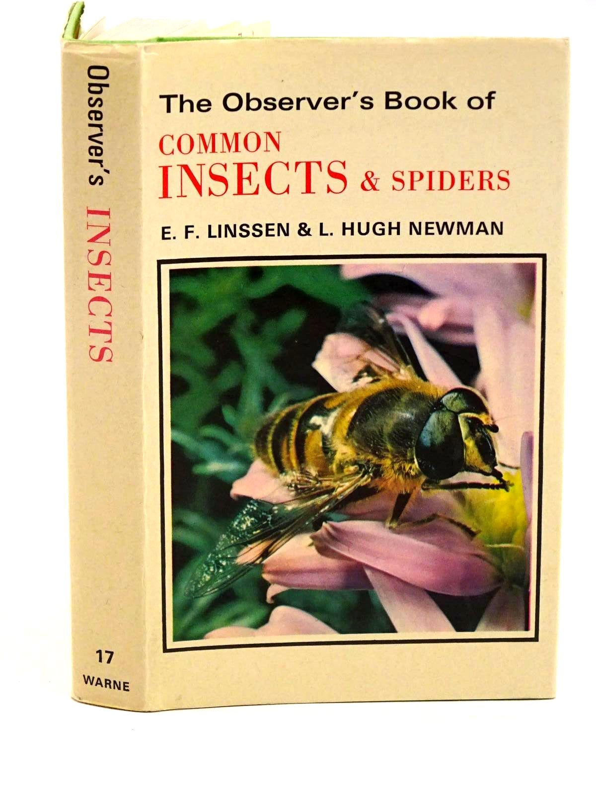 Photo of THE OBSERVER'S BOOK OF COMMON INSECTS AND SPIDERS written by Linssen, E.F.<br />Newman, L. Hugh published by Frederick Warne &amp; Co Ltd. (STOCK CODE: 1318267)  for sale by Stella & Rose's Books