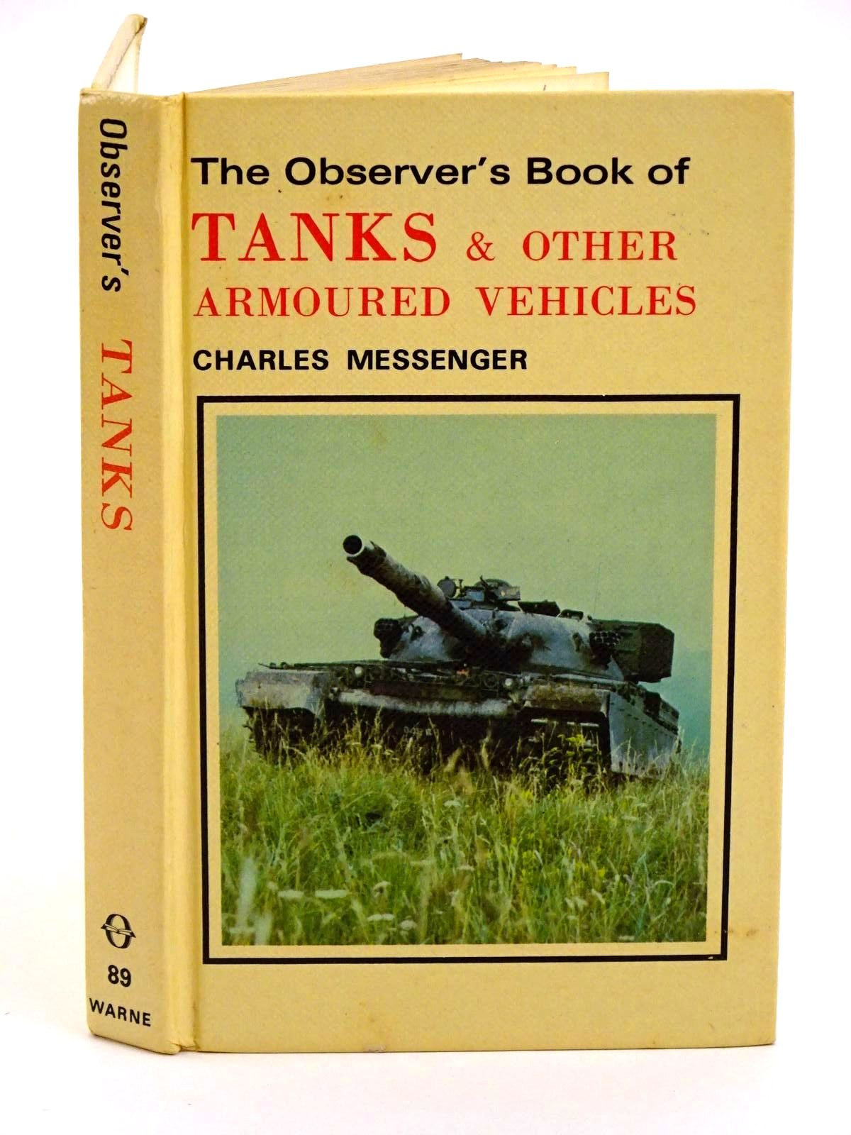Photo of THE OBSERVER'S BOOK OF TANKS AND OTHER ARMOURED VEHICLES- Stock Number: 1318269