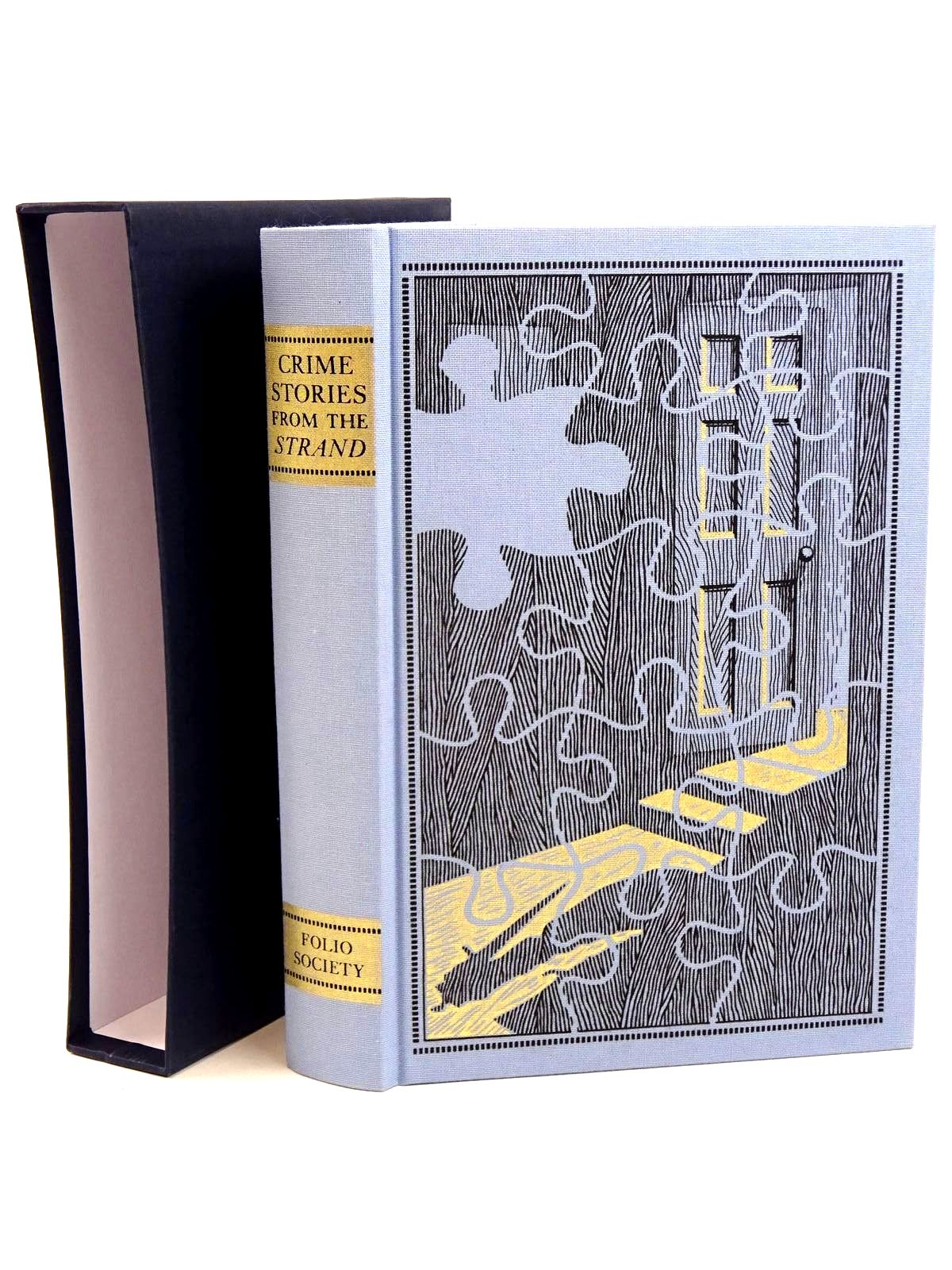 Photo of CRIME STORIES FROM THE 'STRAND' written by Beare, Geraldine<br />Keating, H.R.F. illustrated by Eccles, David published by Folio Society (STOCK CODE: 1318279)  for sale by Stella & Rose's Books