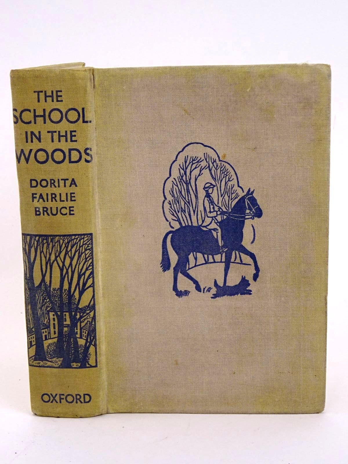 Photo of THE SCHOOL IN THE WOODS written by Bruce, Dorita Fairlie illustrated by Anson, G.M. published by Oxford University Press, Humphrey Milford (STOCK CODE: 1318321)  for sale by Stella & Rose's Books